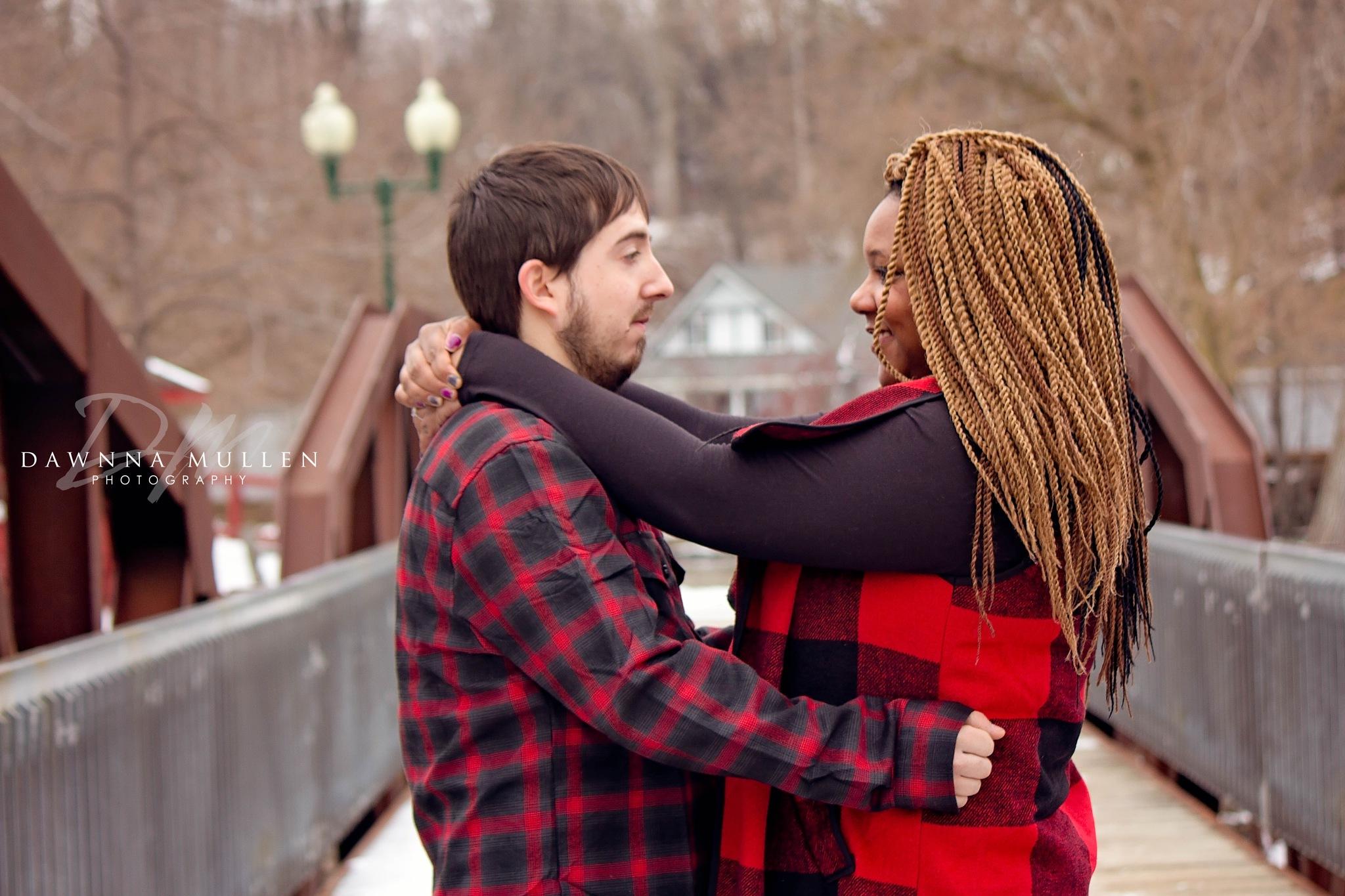 happy engagement by Dawnna Mullen