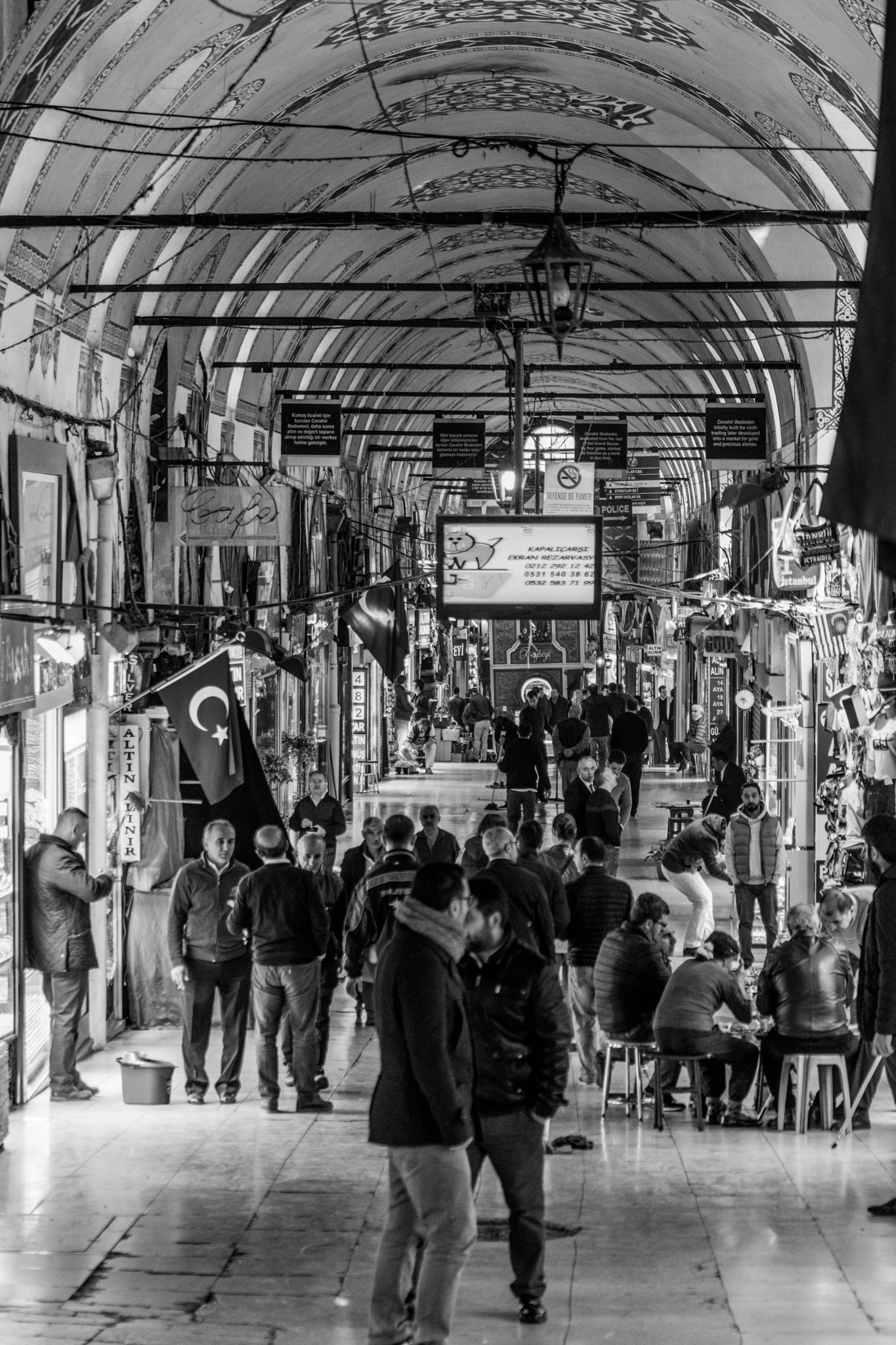 Grandbazaar Istanbul by I shoot b&w