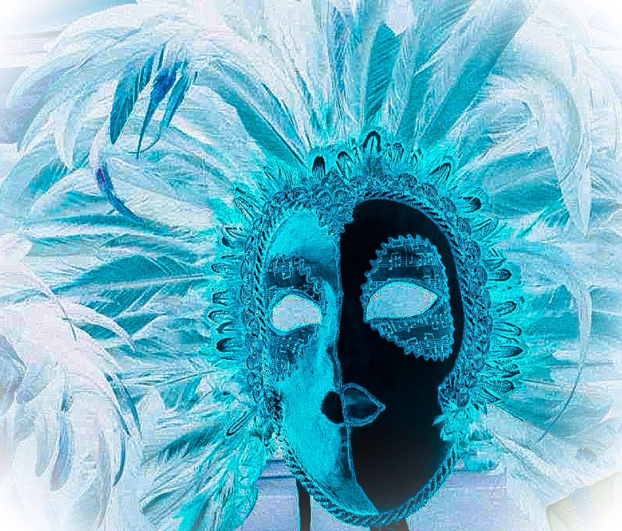 The mask..! by pravnisha