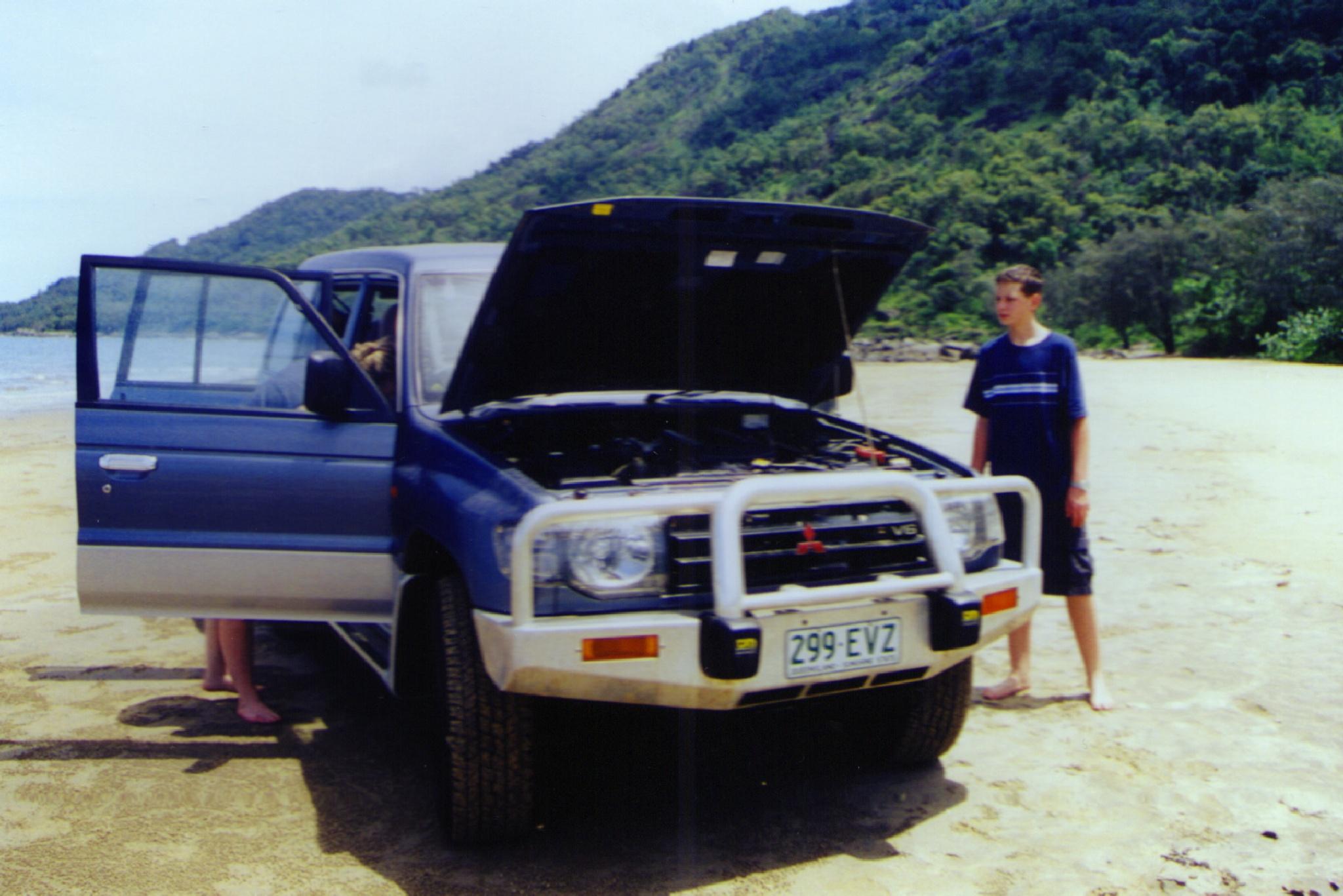 Mitsubishi Pajero Flashback by Chris Martin