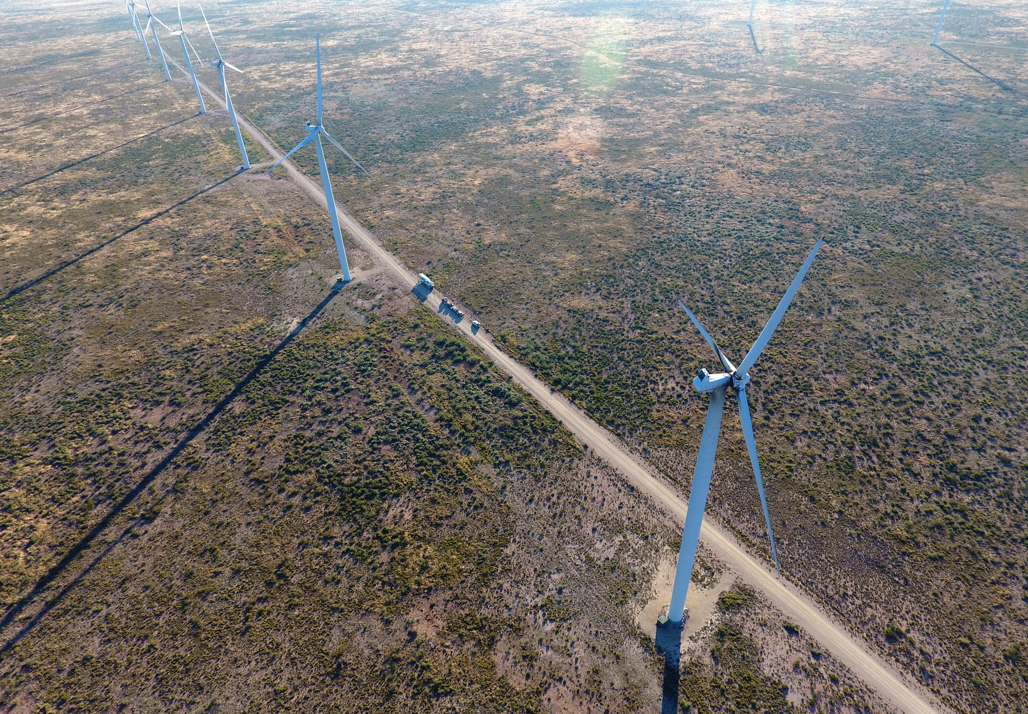 Wind Energy Rule of Thirds by Chris Martin