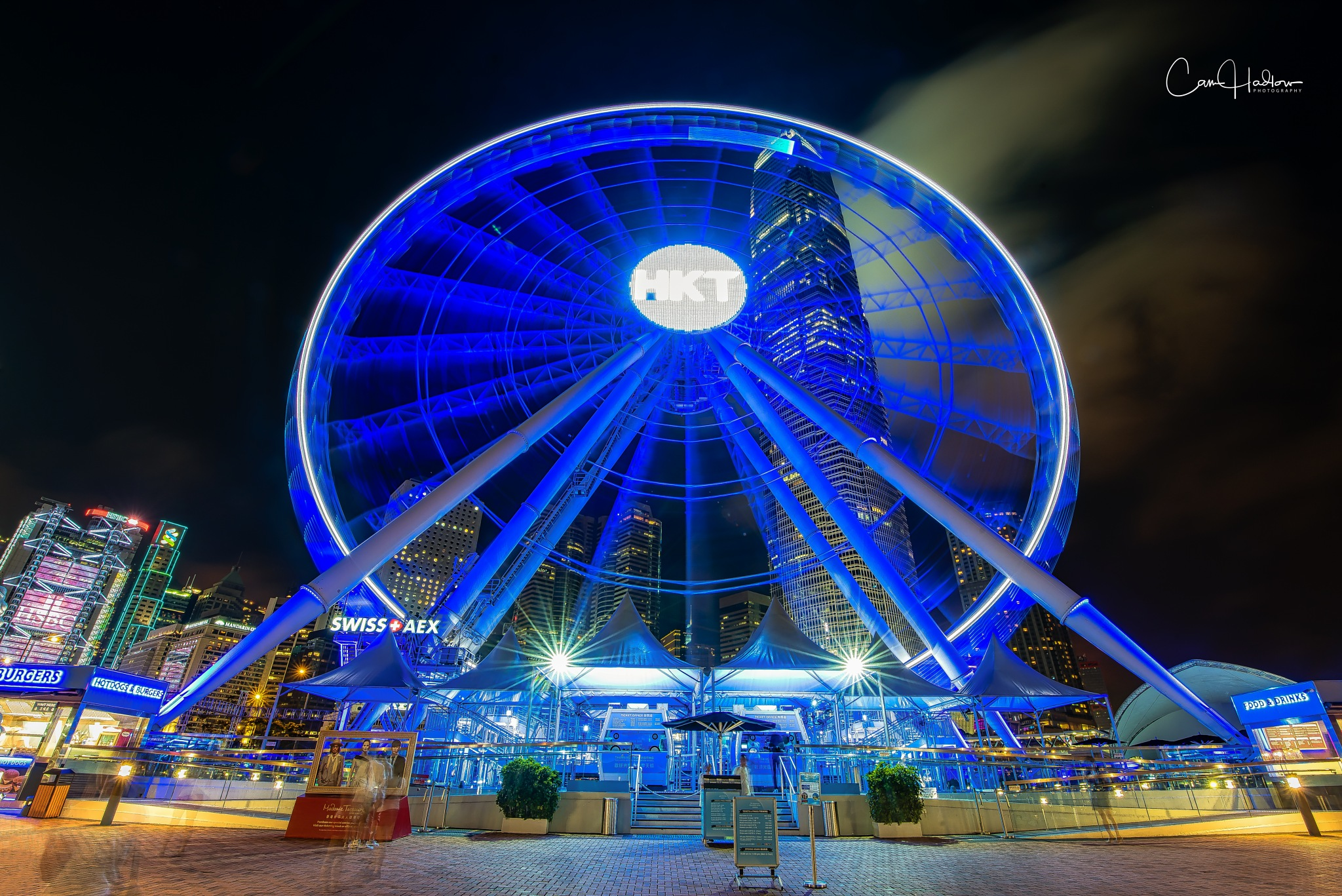 Hong Kong Observation Wheel by CamHadlowPhotography