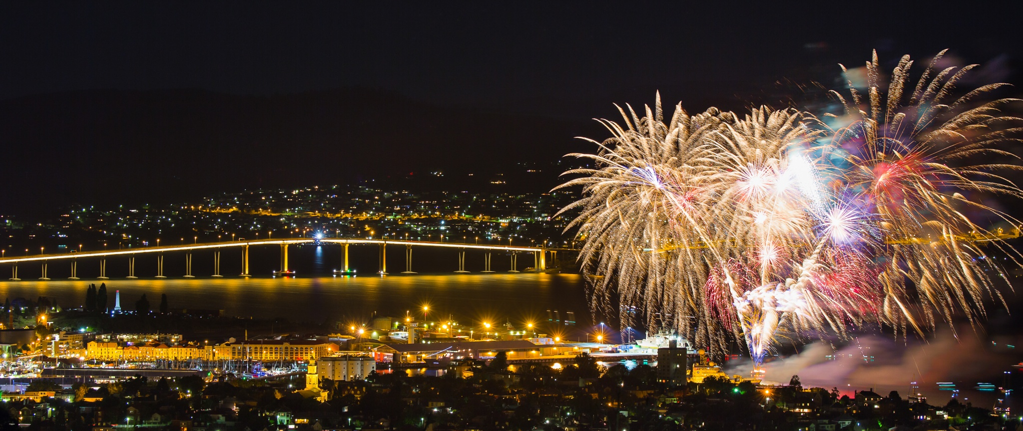 Hobart New Year 2015 by CamHadlowPhotography
