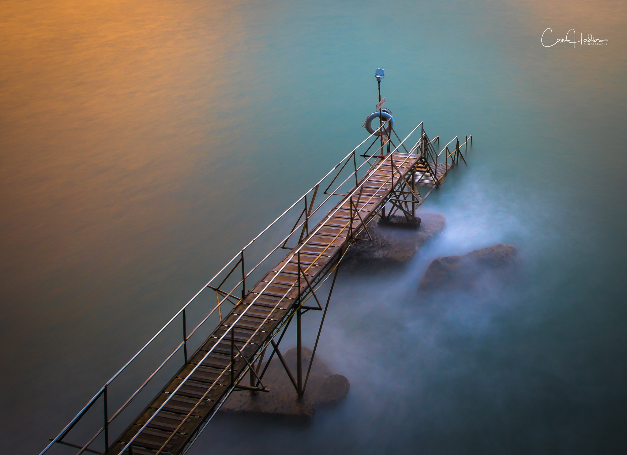 San Wan swimming Shed at Kennedy Town by CamHadlowPhotography