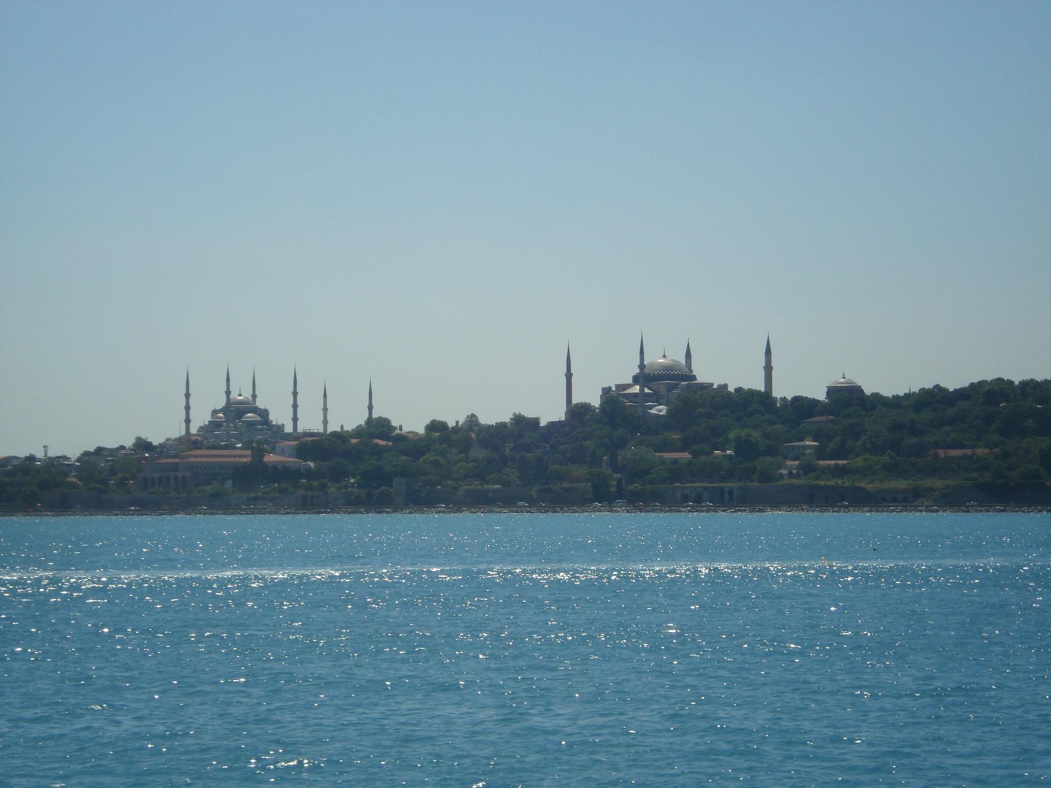 5 - 23/8/18 .. 100-21 .. ISTANBUL - S.Ahmed mosque + Hagıa Sophıa .. by GÜVEN YENERSOY