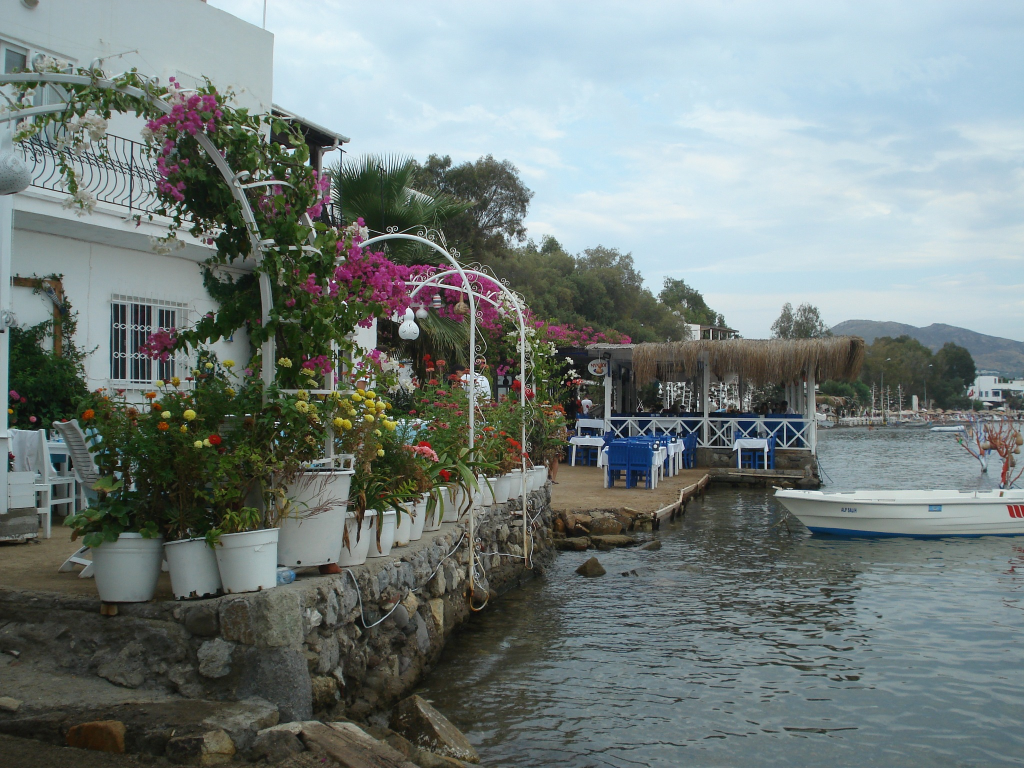 6 - 10/8 .. 104-78 ..ONE.OF.THE.SEASIDE.IN.BODRUM.. by GÜVEN YENERSOY