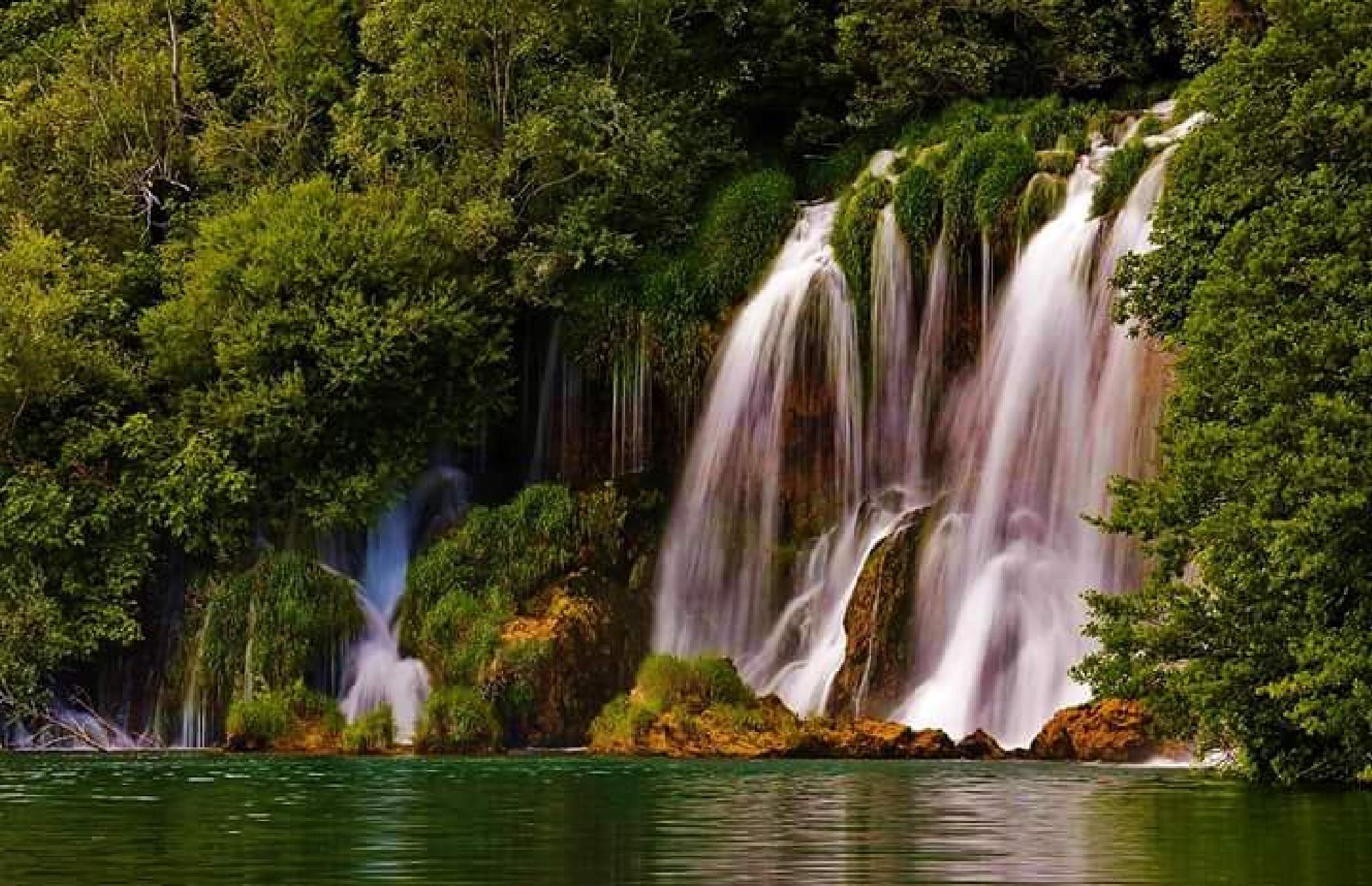 Waterfall Springs by p_oleary122473