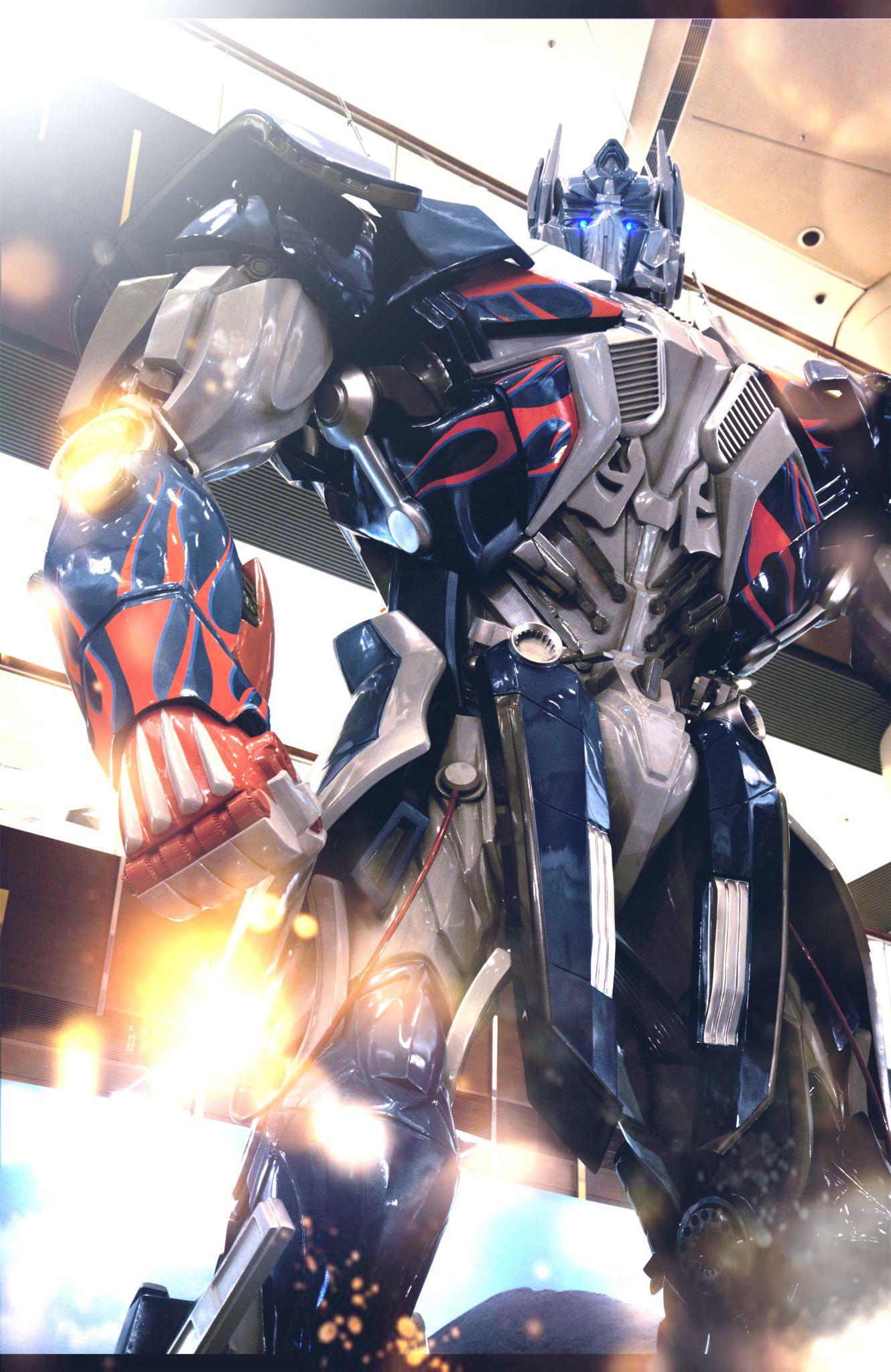 Optimus Prime in hong kong  by fung1128