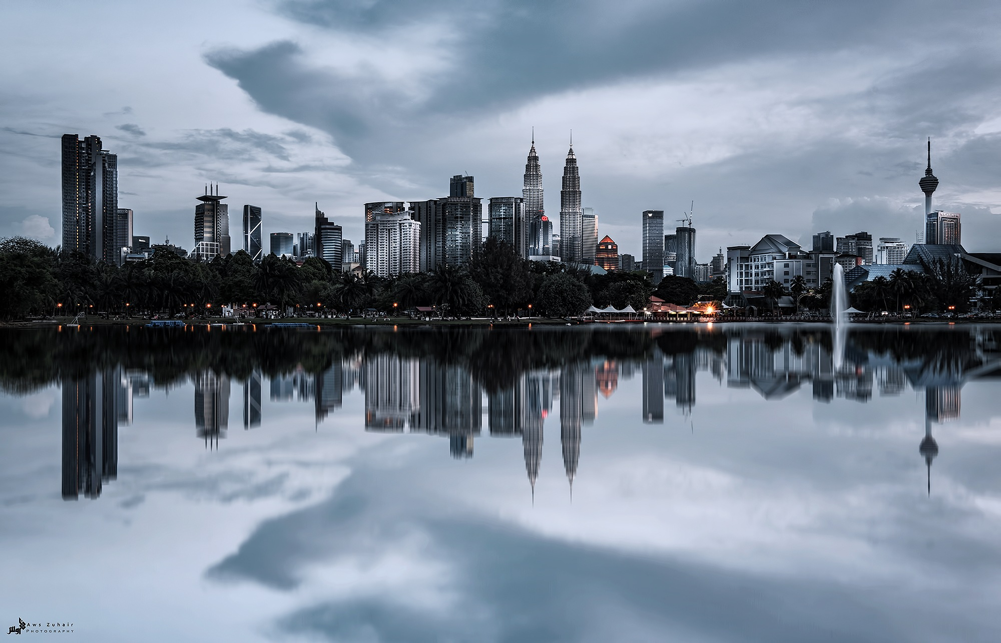 Kuala Lumpur in Gotham style  by AwsZuhair