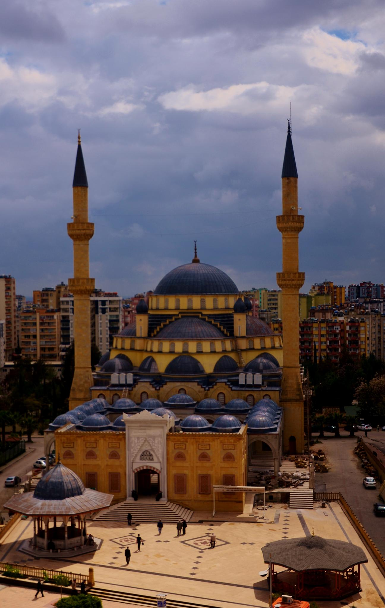 Ramazanoğlu Mosque-Adana by seyrani