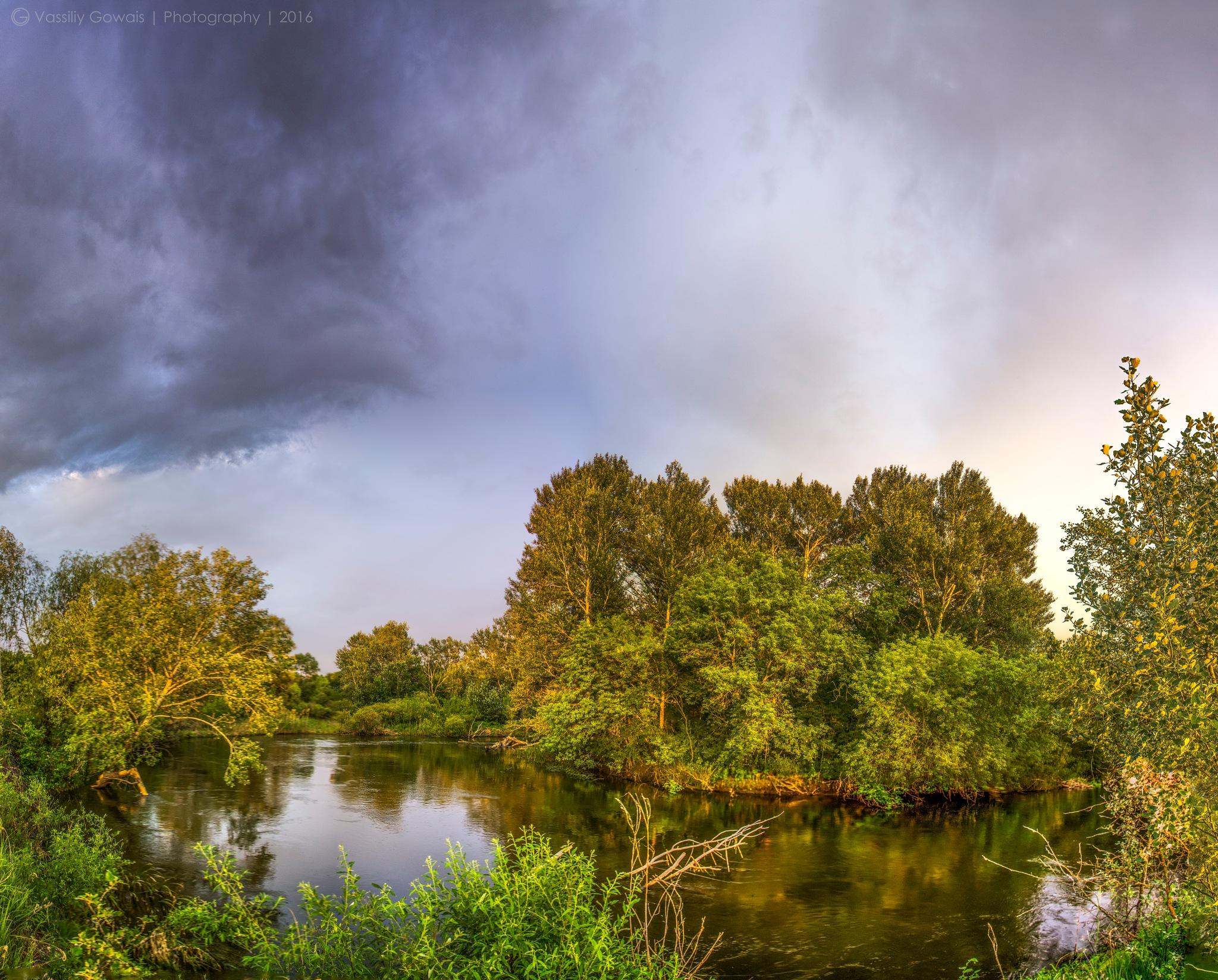 Закат by Gowais