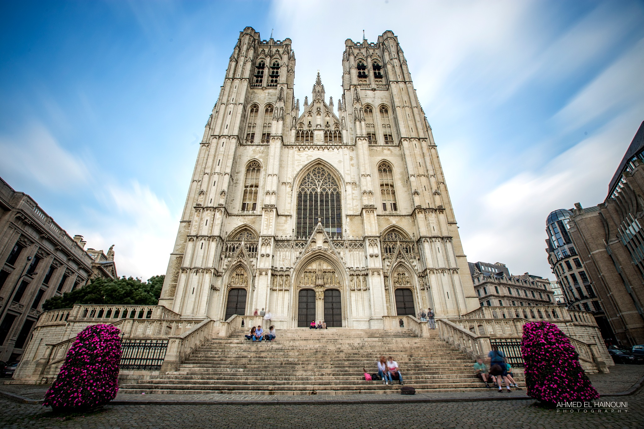 Saint Michael Cathedral Brussels by Ahmed El Hainouni