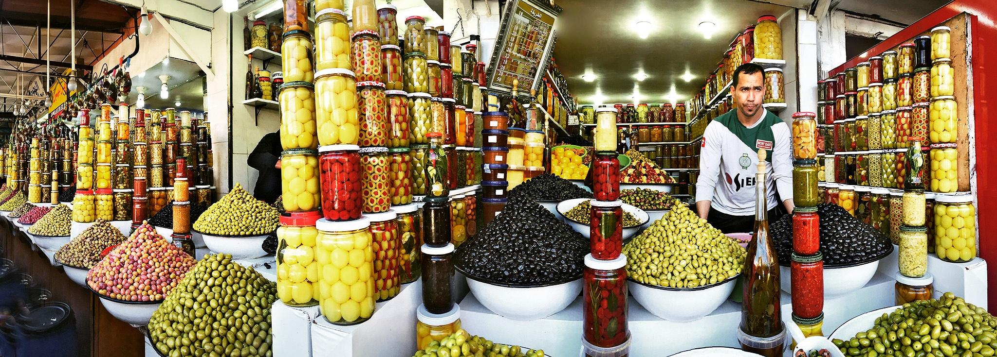 Olive Stalls by EdWheeler