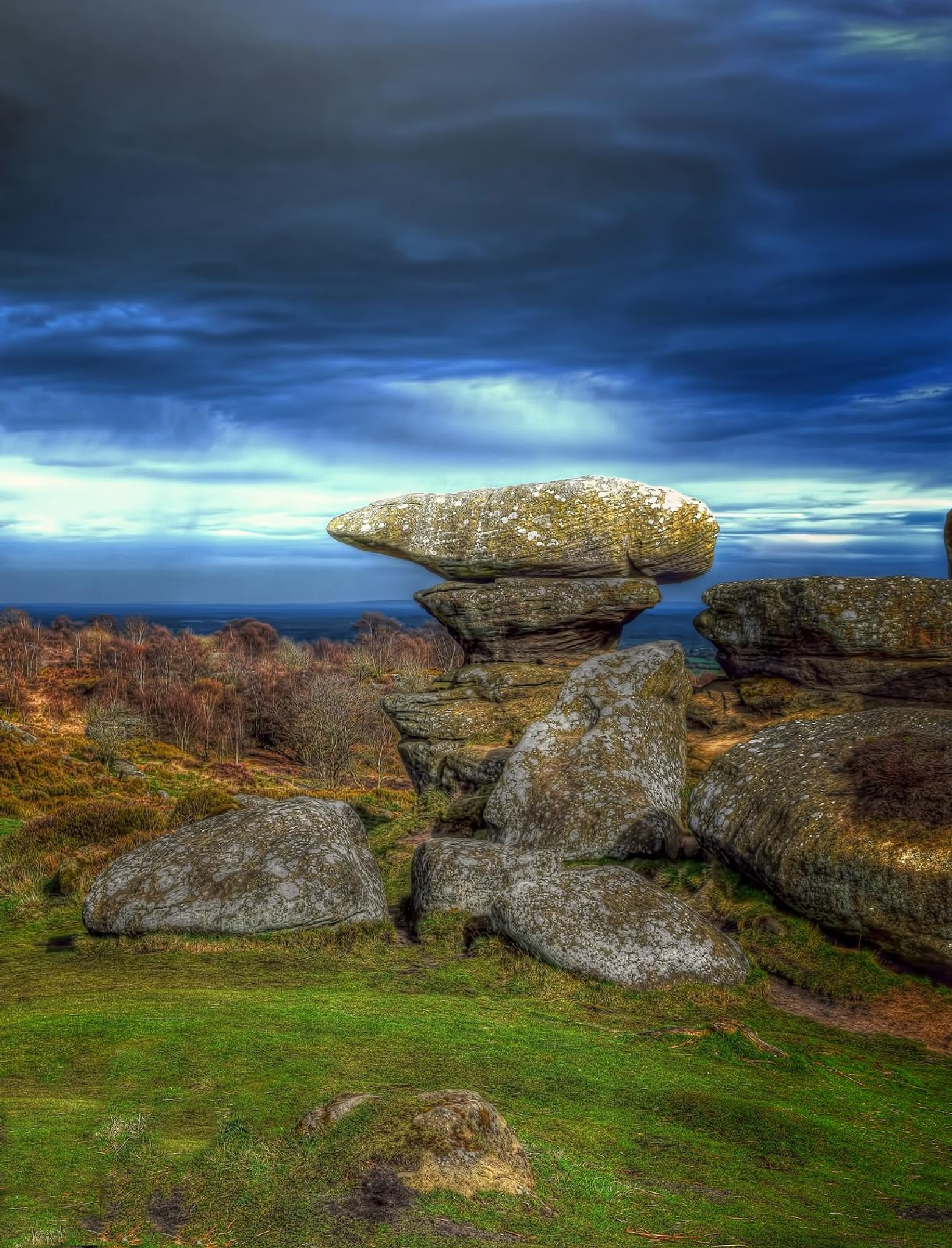 Brimham Rocks by RichardBrigham