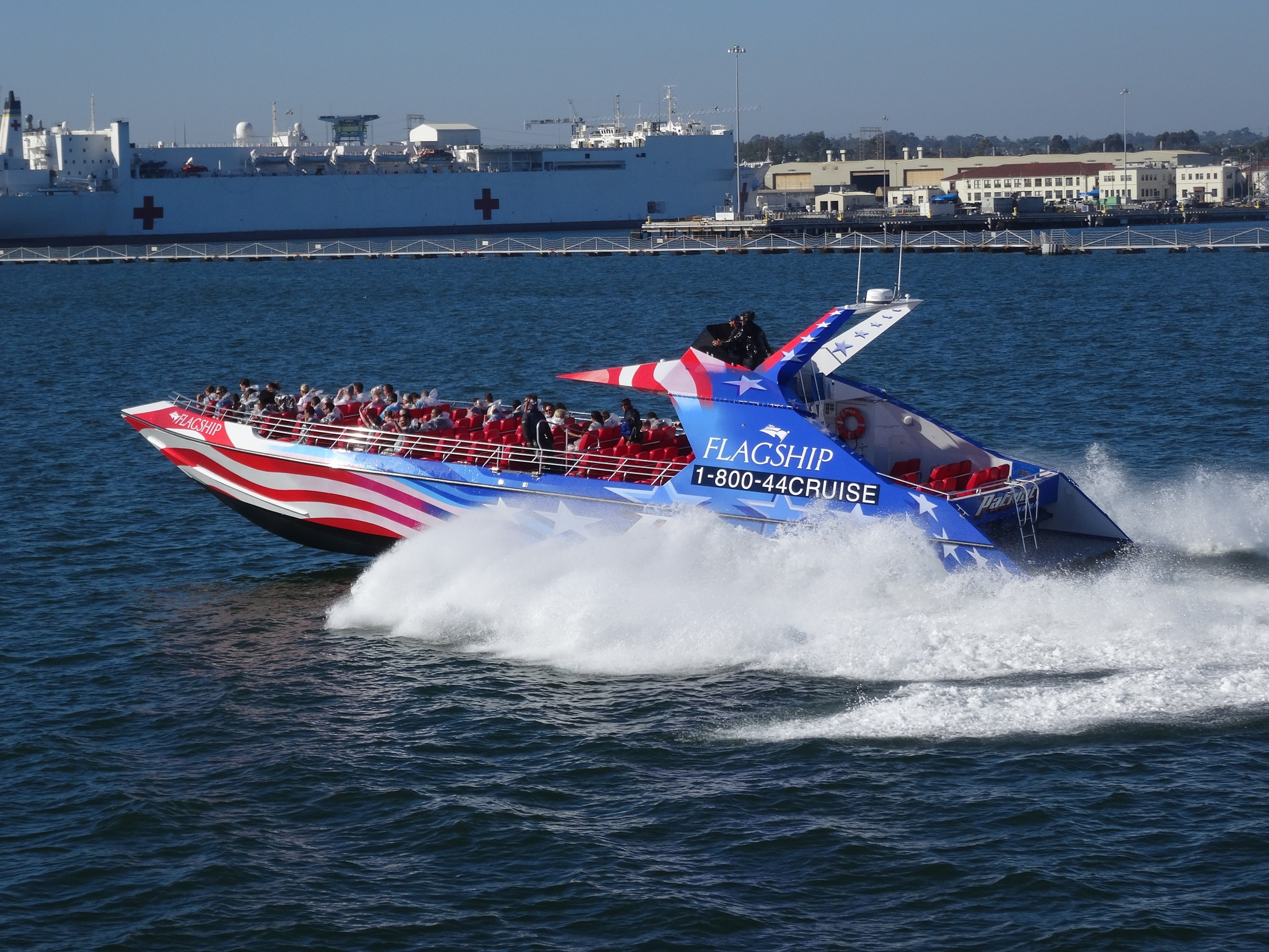 Flagship  Cruise - Patriot Jet Boat by Sen5