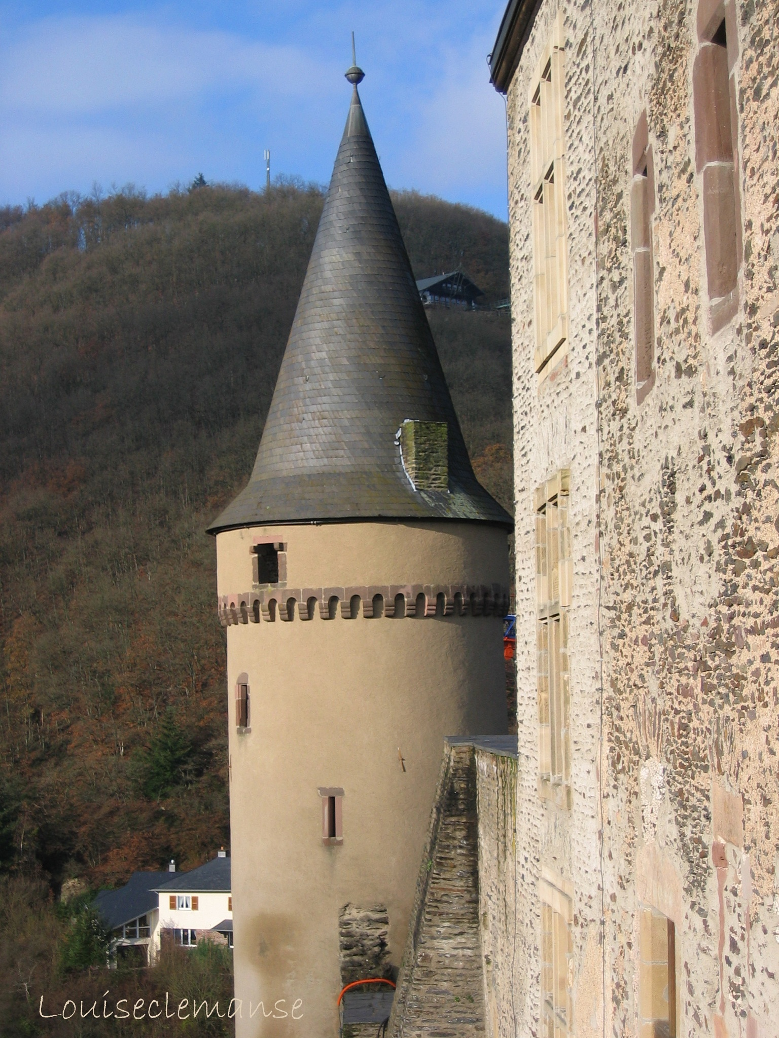 Vianden Castle by Mie Vanmarcke
