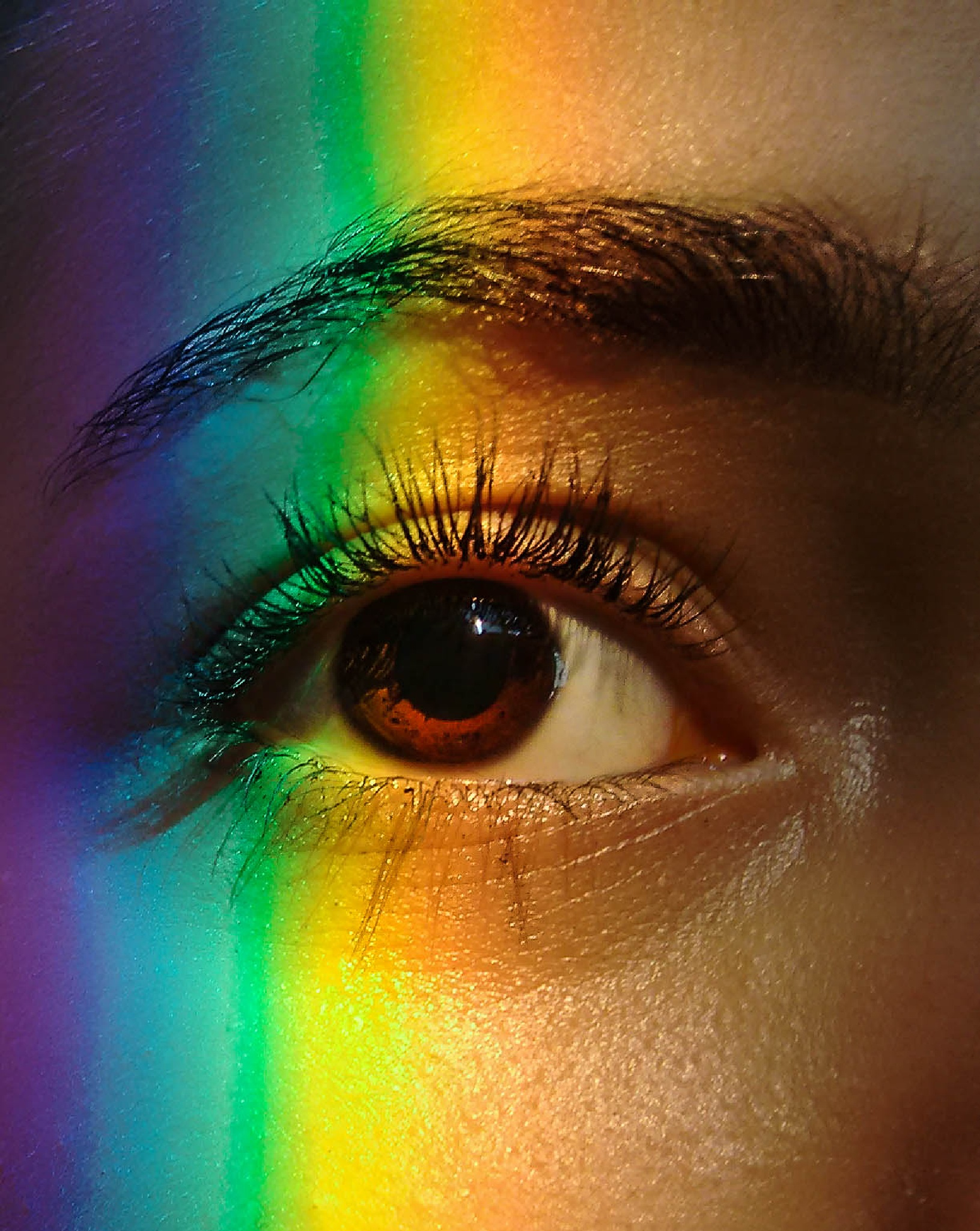 Look at my eyes.  by Nathalia Nossar