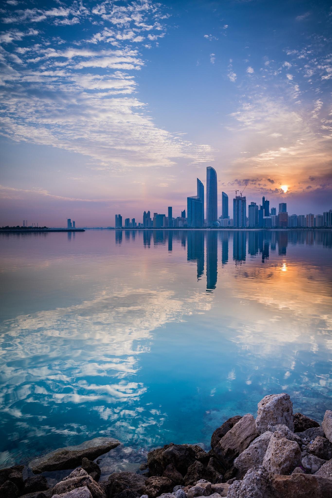 Reflection of Abu Dhabi by Murshed AlMehairi