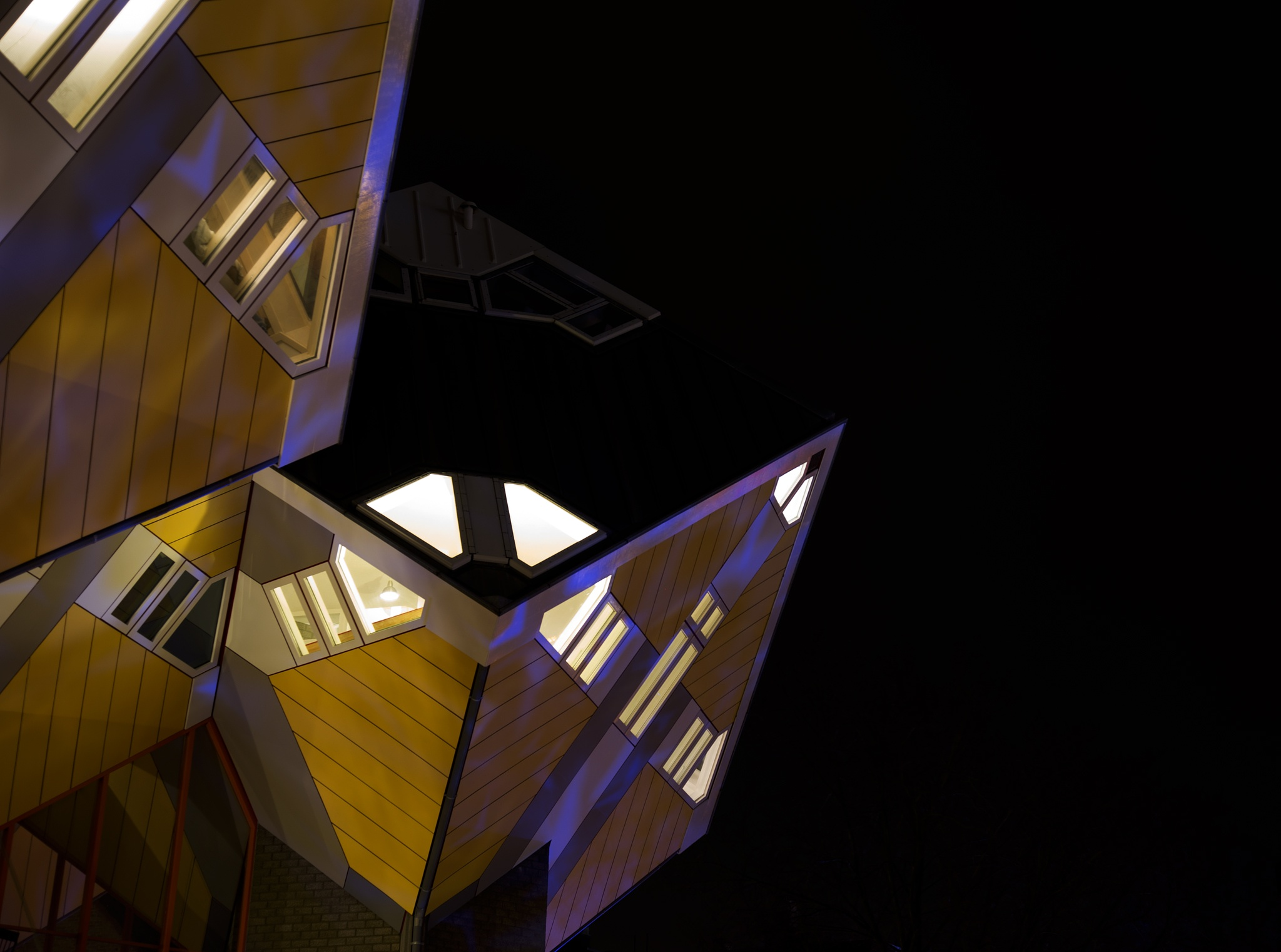 Cube-houses Rotterdam by Yvonne Smits