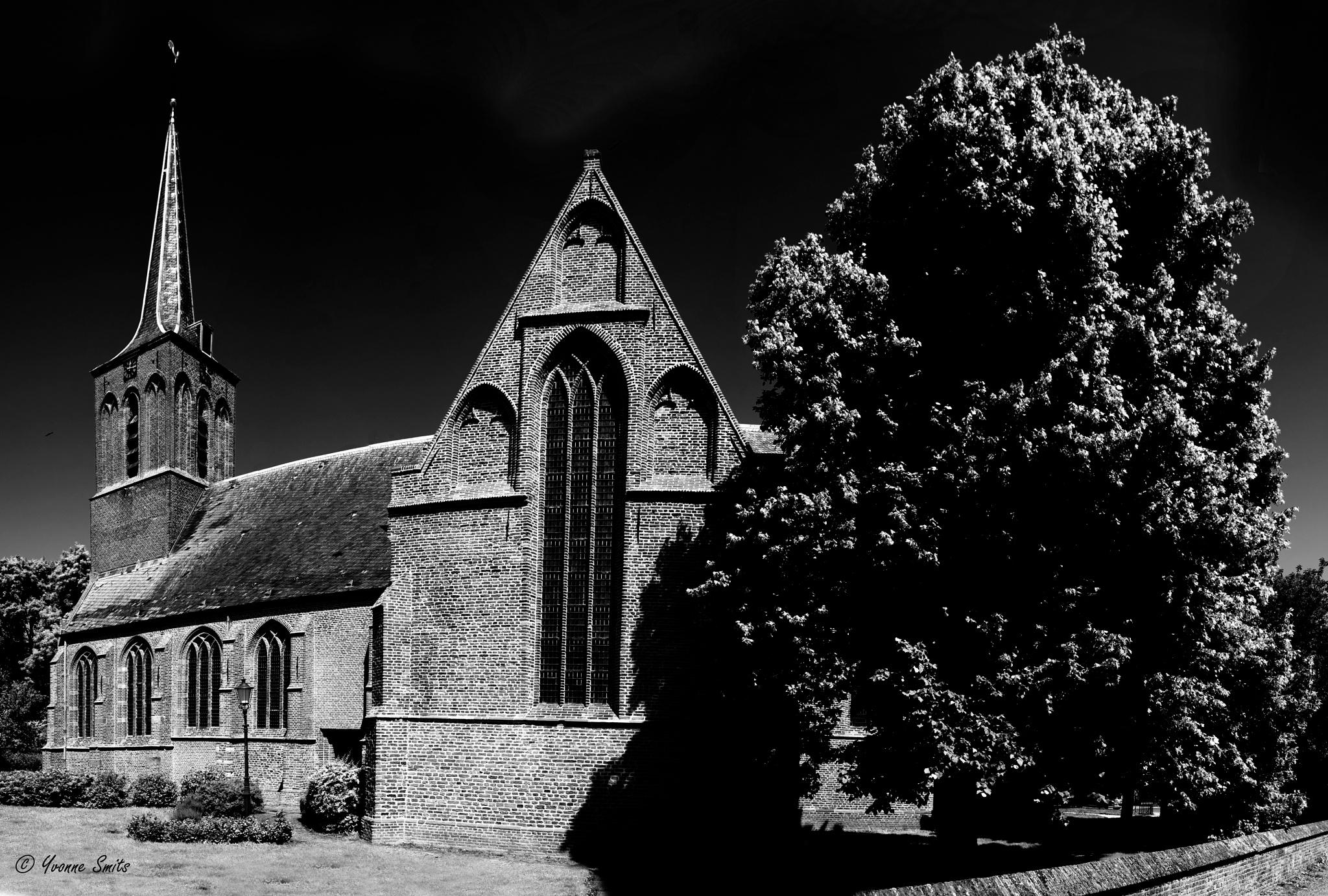 Church Black & White  by Yvonne Smits