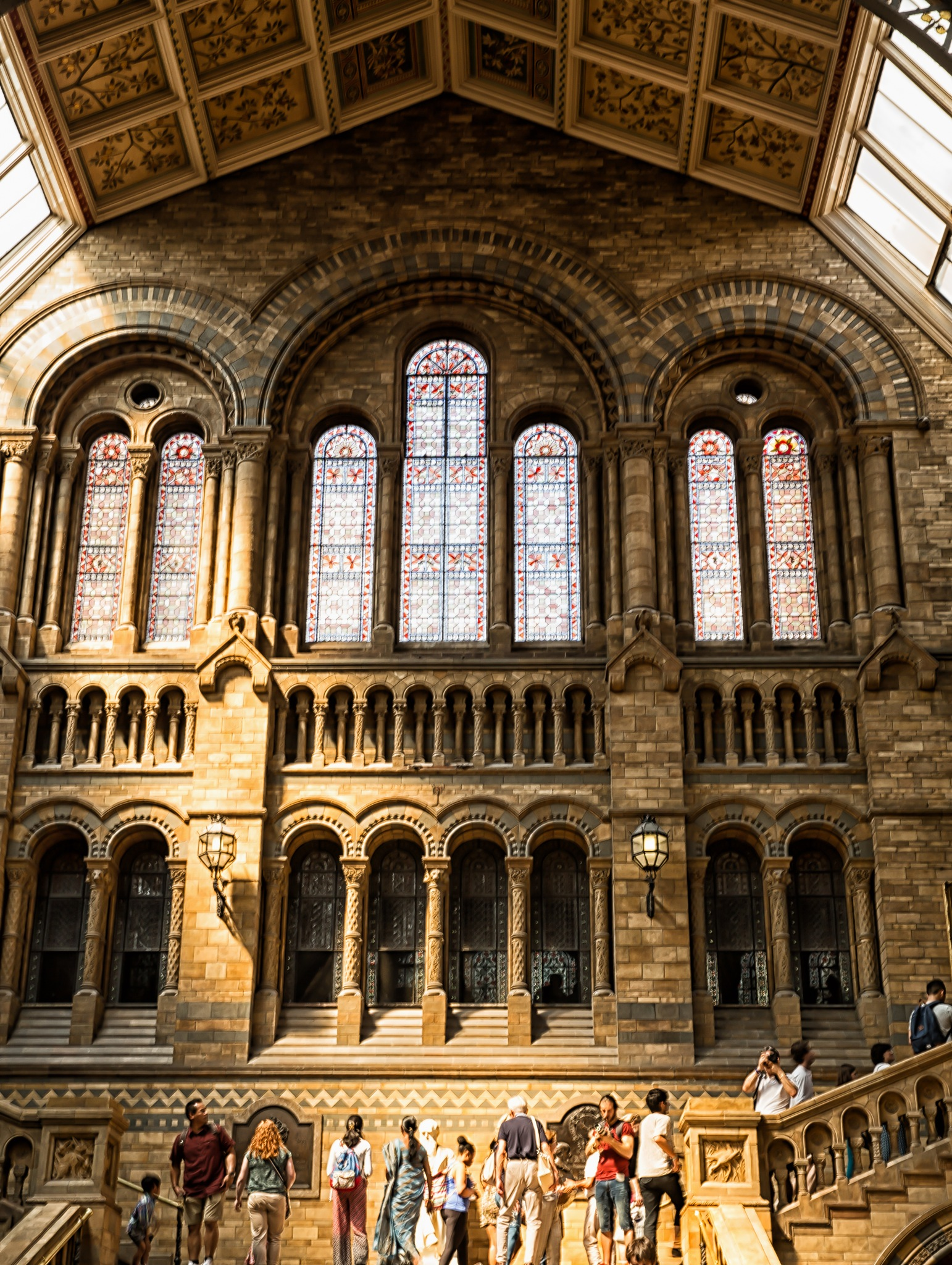 Natural History Museum, London by Arundhati