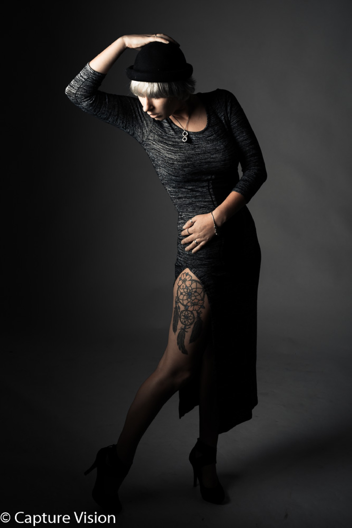Does the dress show my tattoo? by Ferry