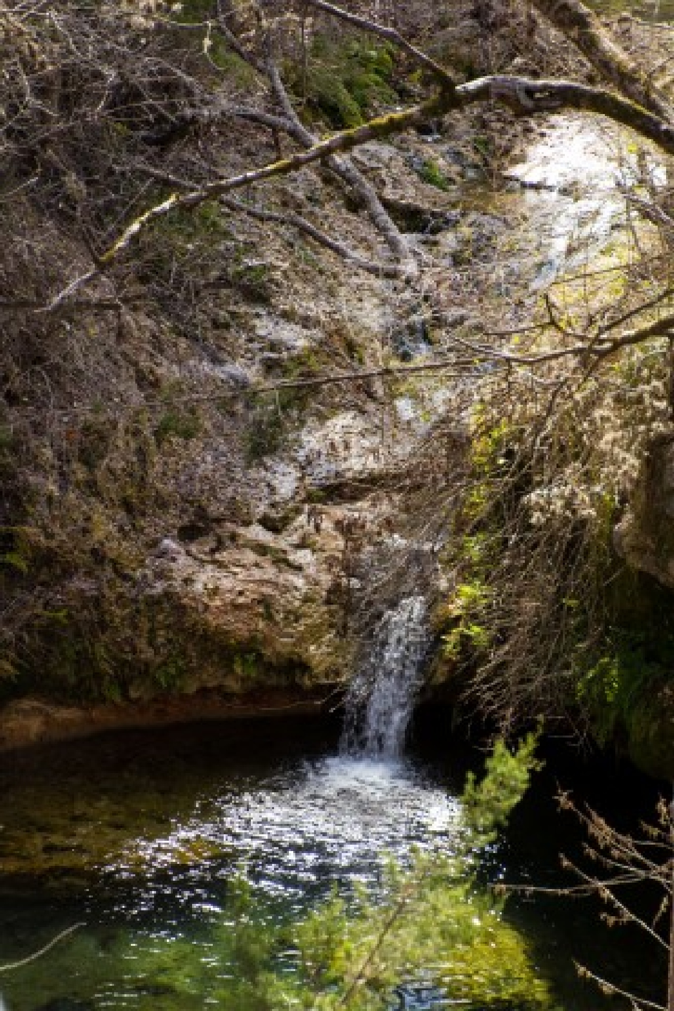 Small waterfall by hhines312