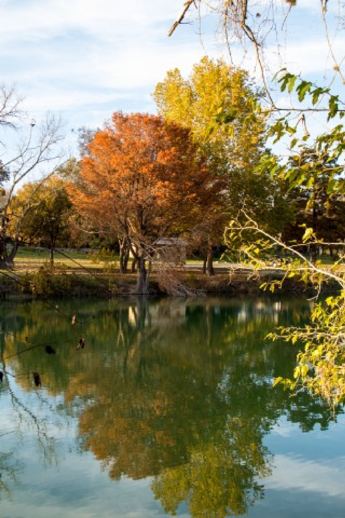 Fall reflection by hhines312