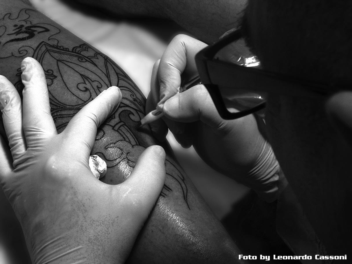 Tattoo detalhe by Leonardo Cassoni