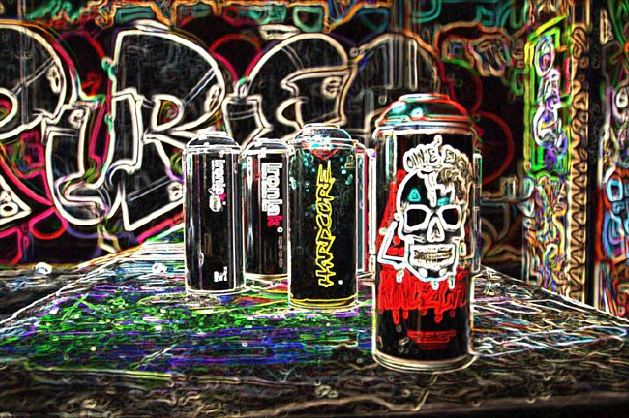 graffiti art tools by LeanneT