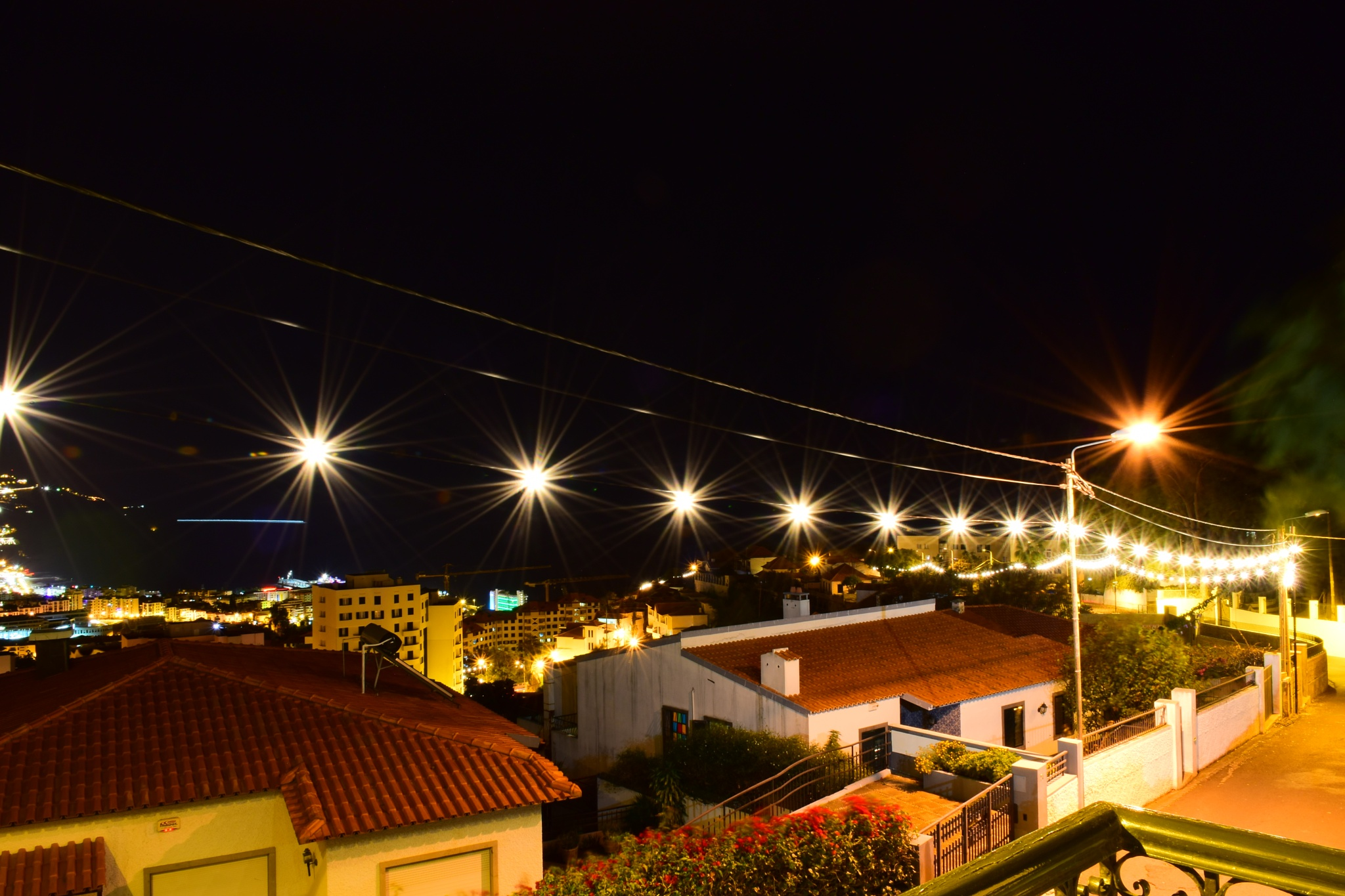 Christmas Road lights by Dinarte Rodrigues