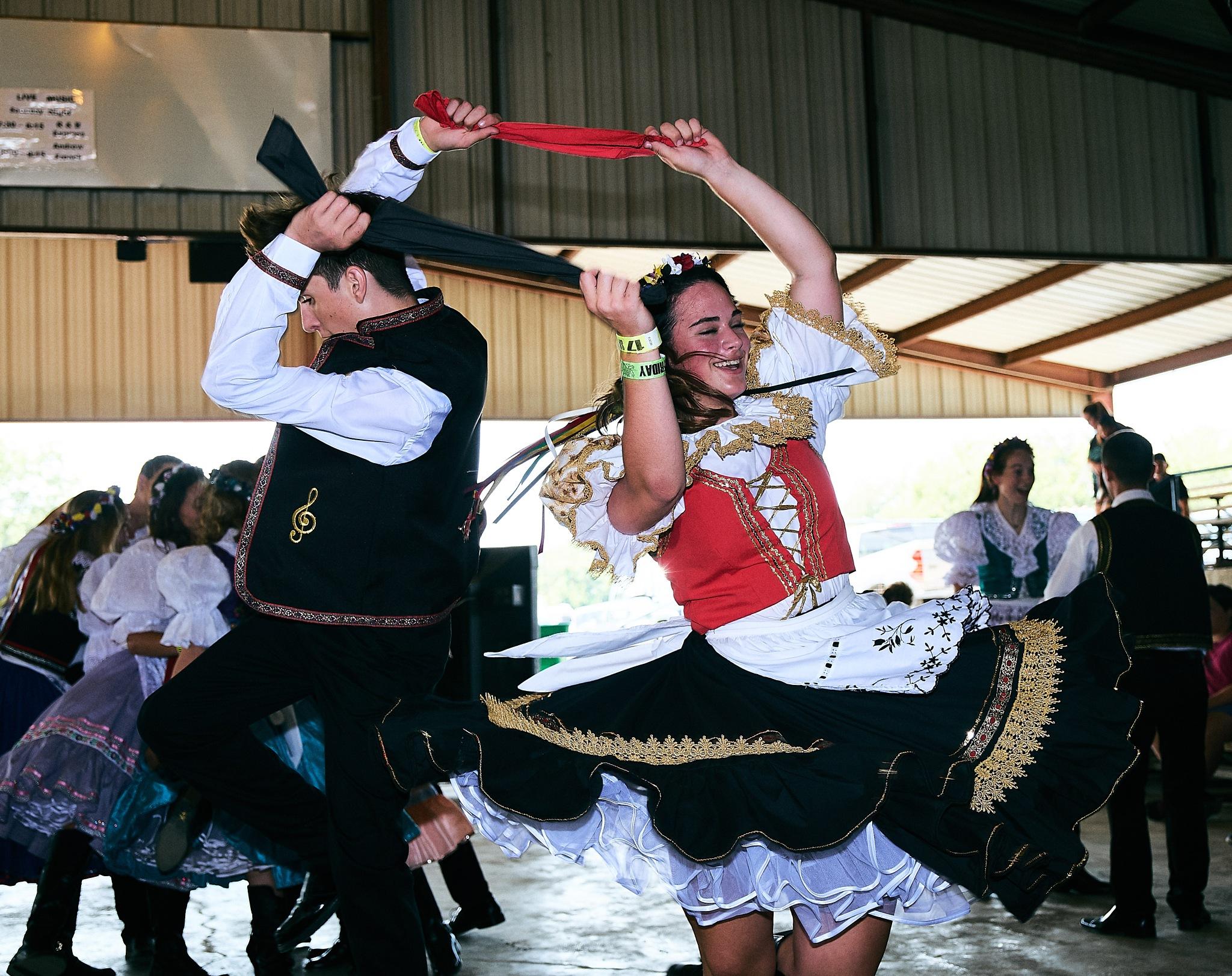 West Fest Dancers by Christopher Winston