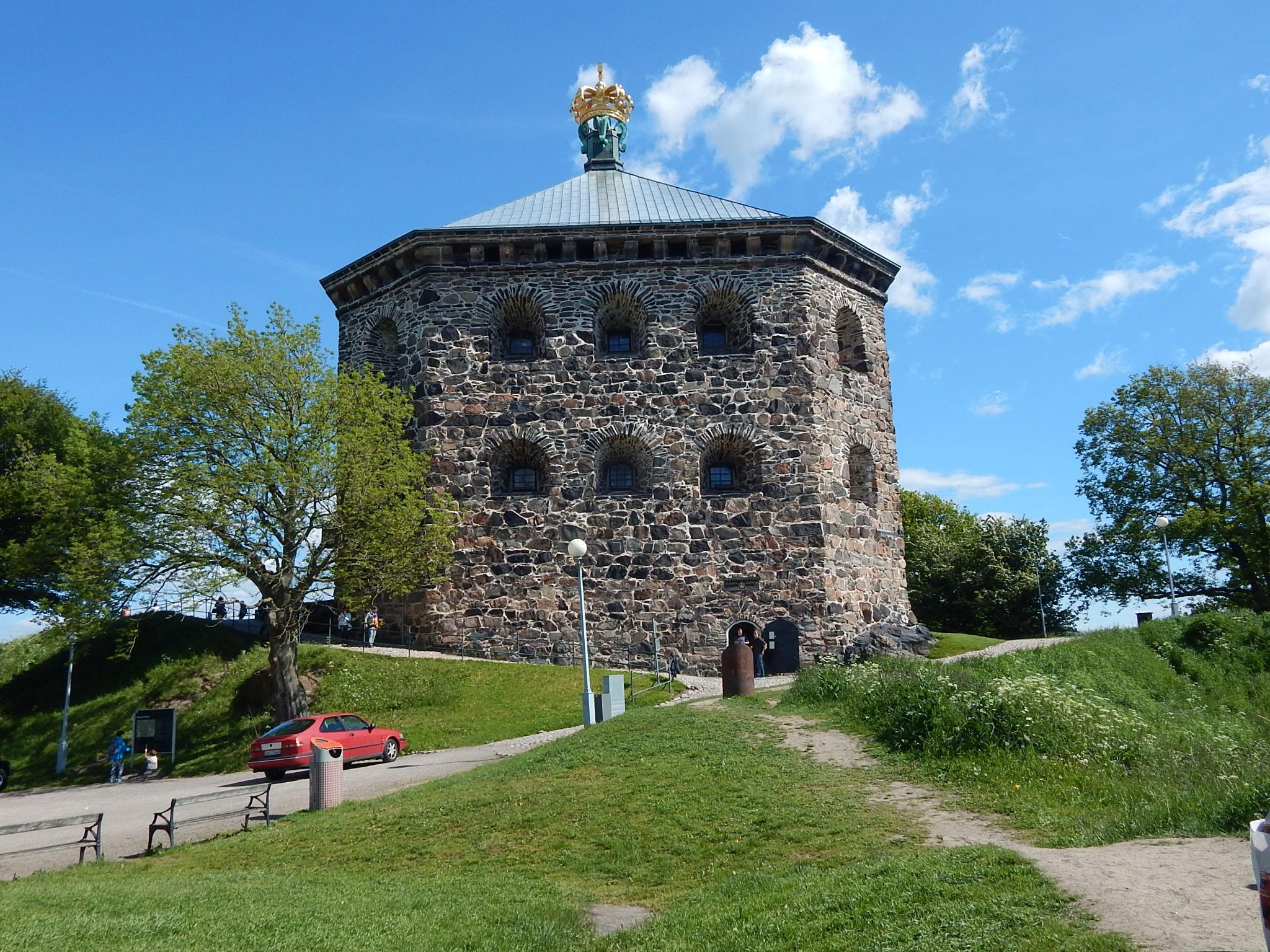 Skansen Kronan castle by rubd1val