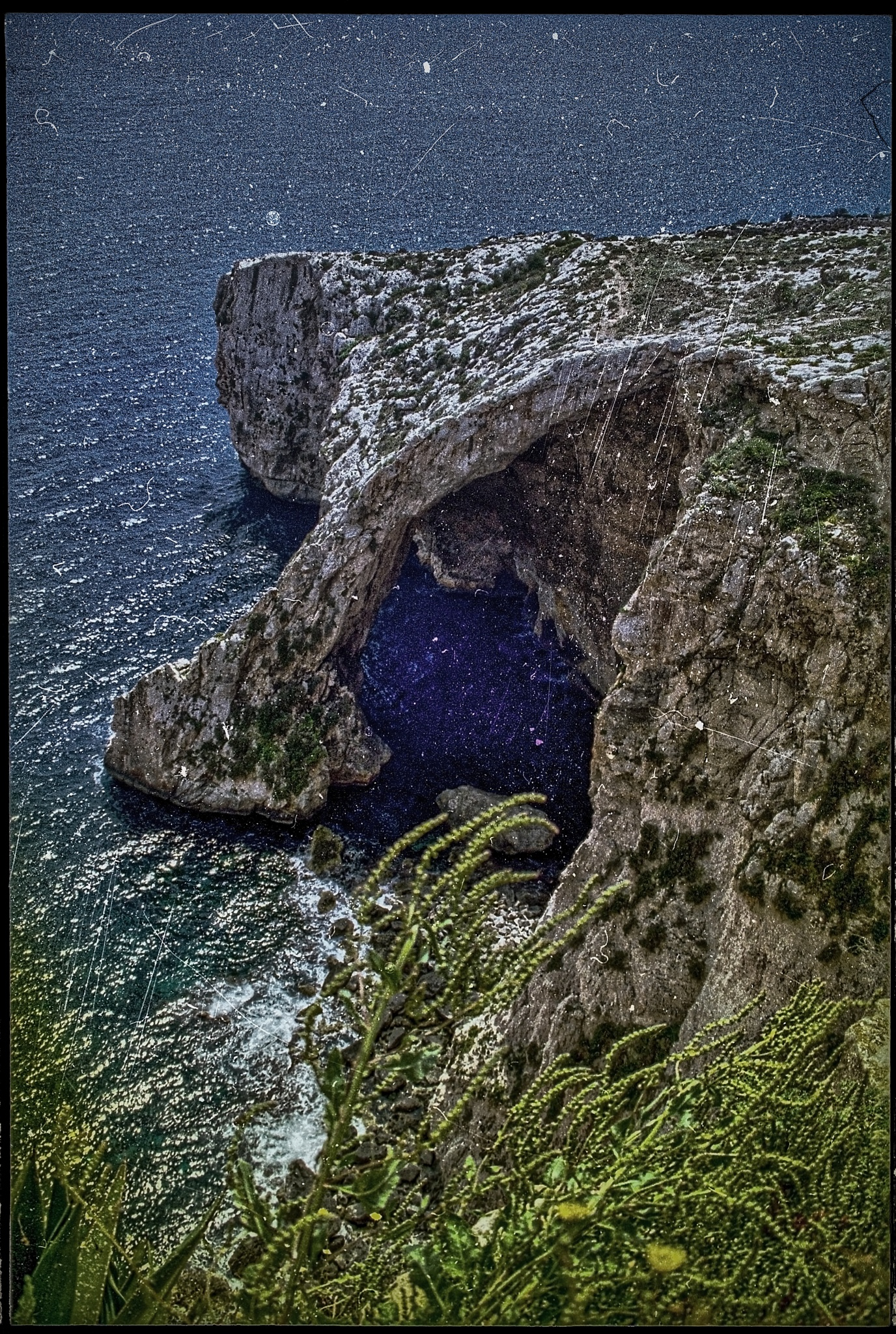 Blue Grotto by Bo Kärker