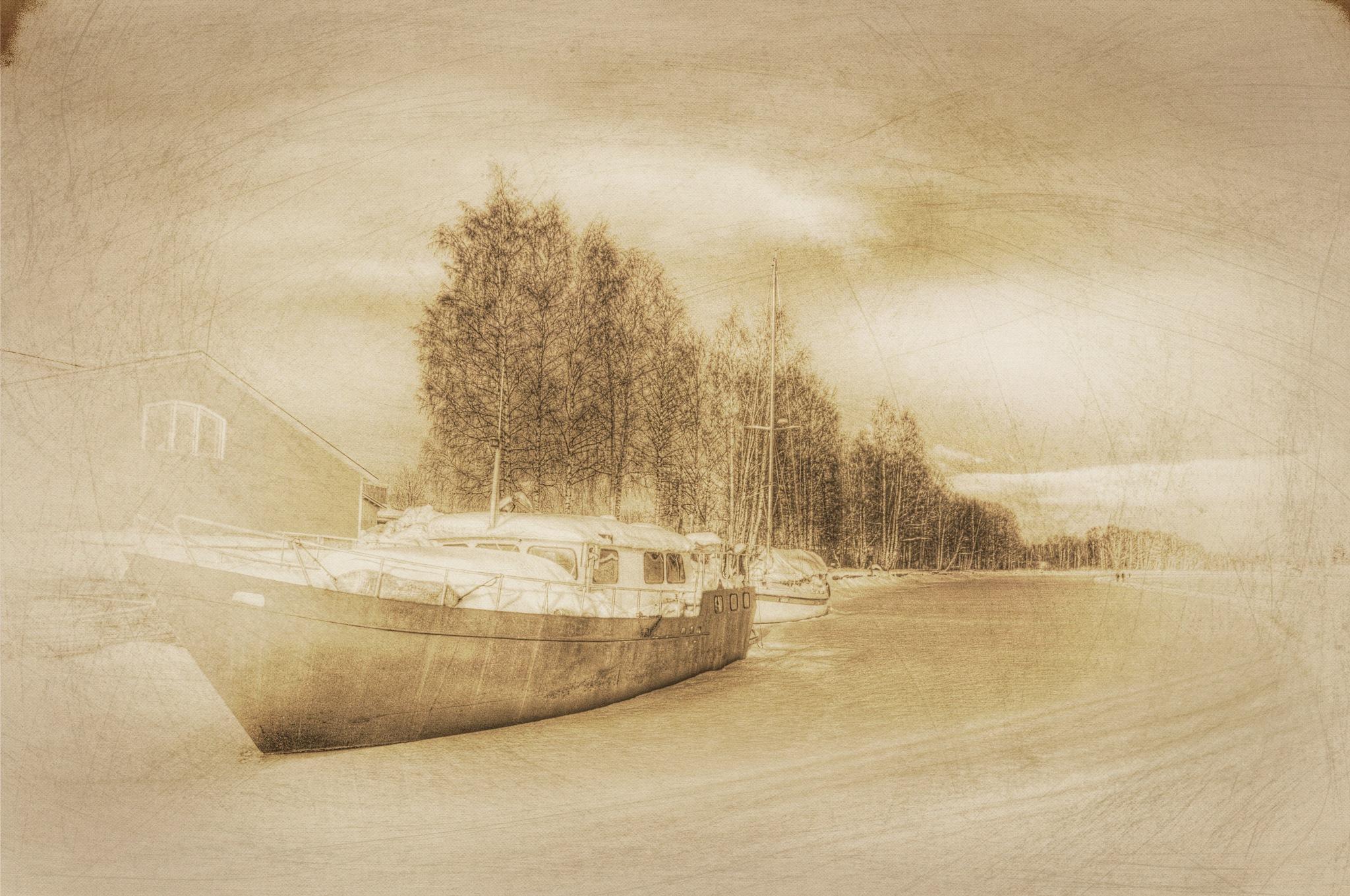 Sunrays by Bo Kärker