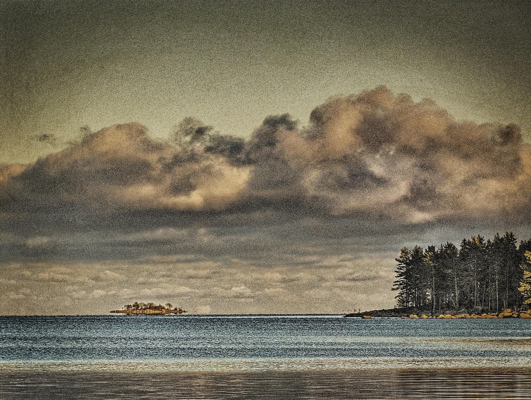 Sailing Island by Bo Kärker