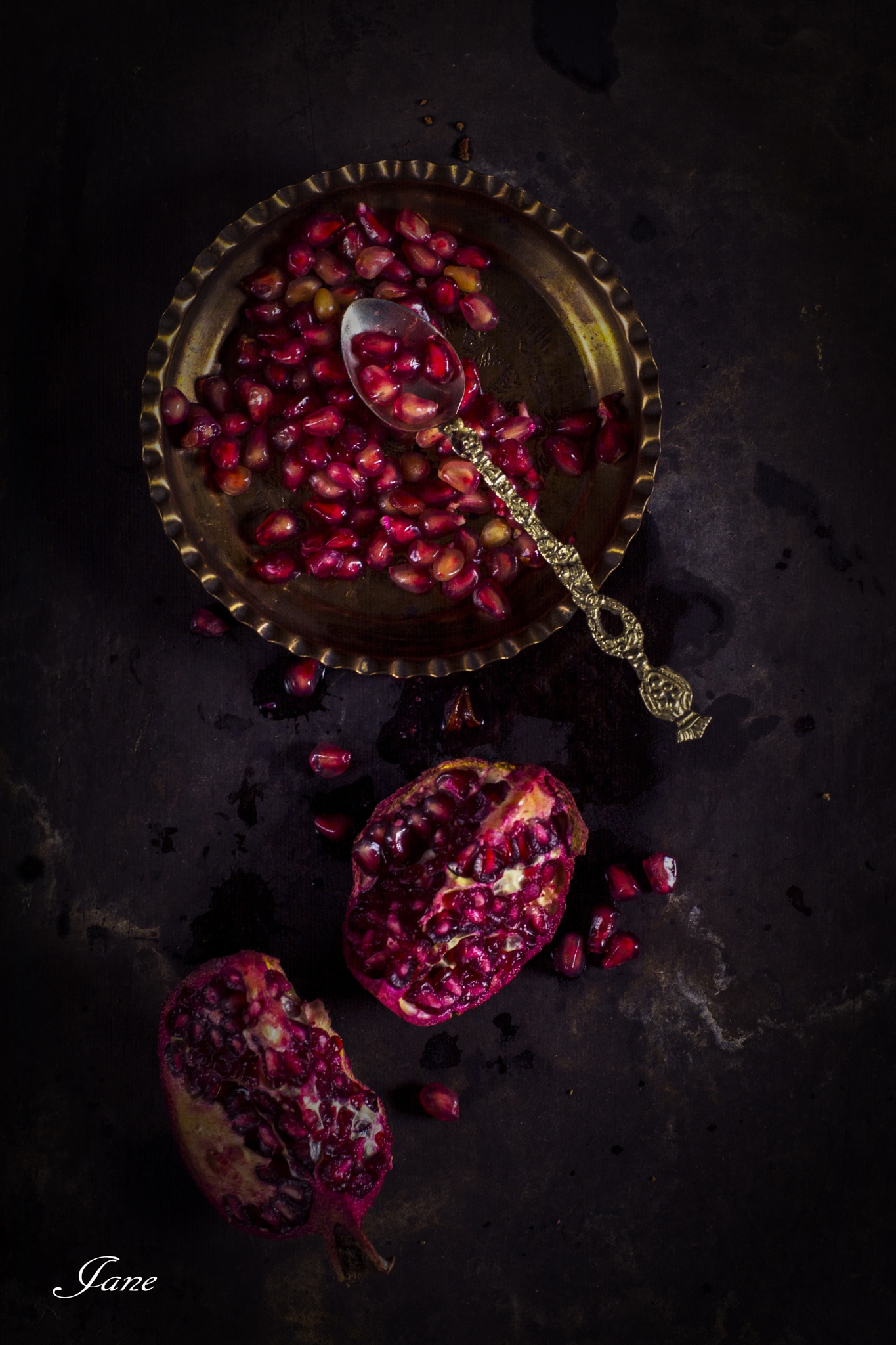 Granules pomegranate  by Jane Austen