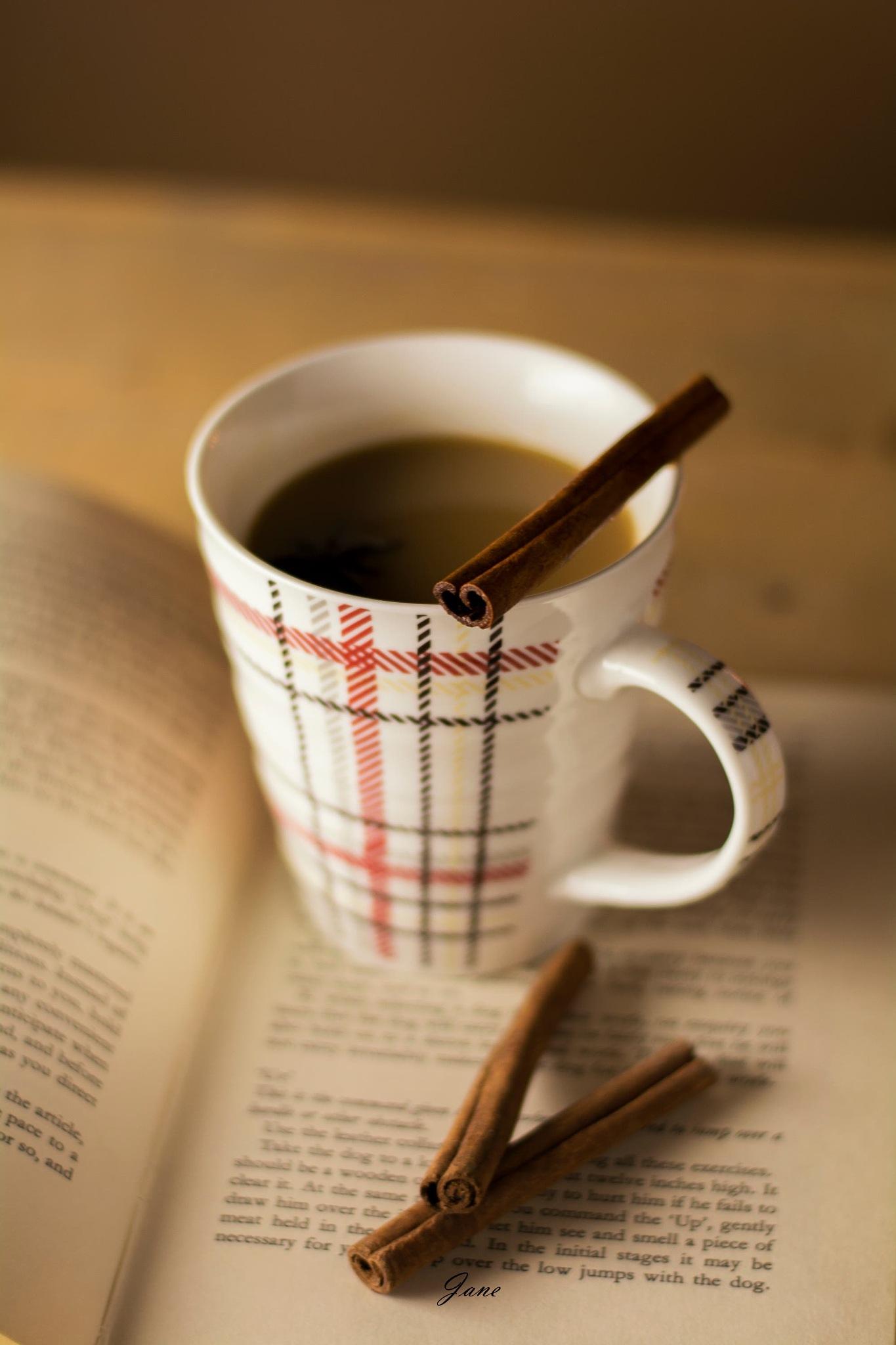 Coffee mug.  by Jane Austen