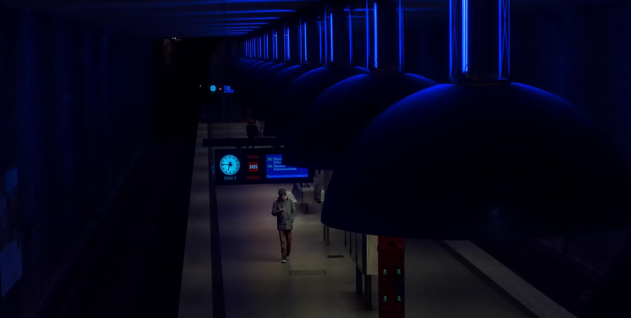 underground station by DieterEin