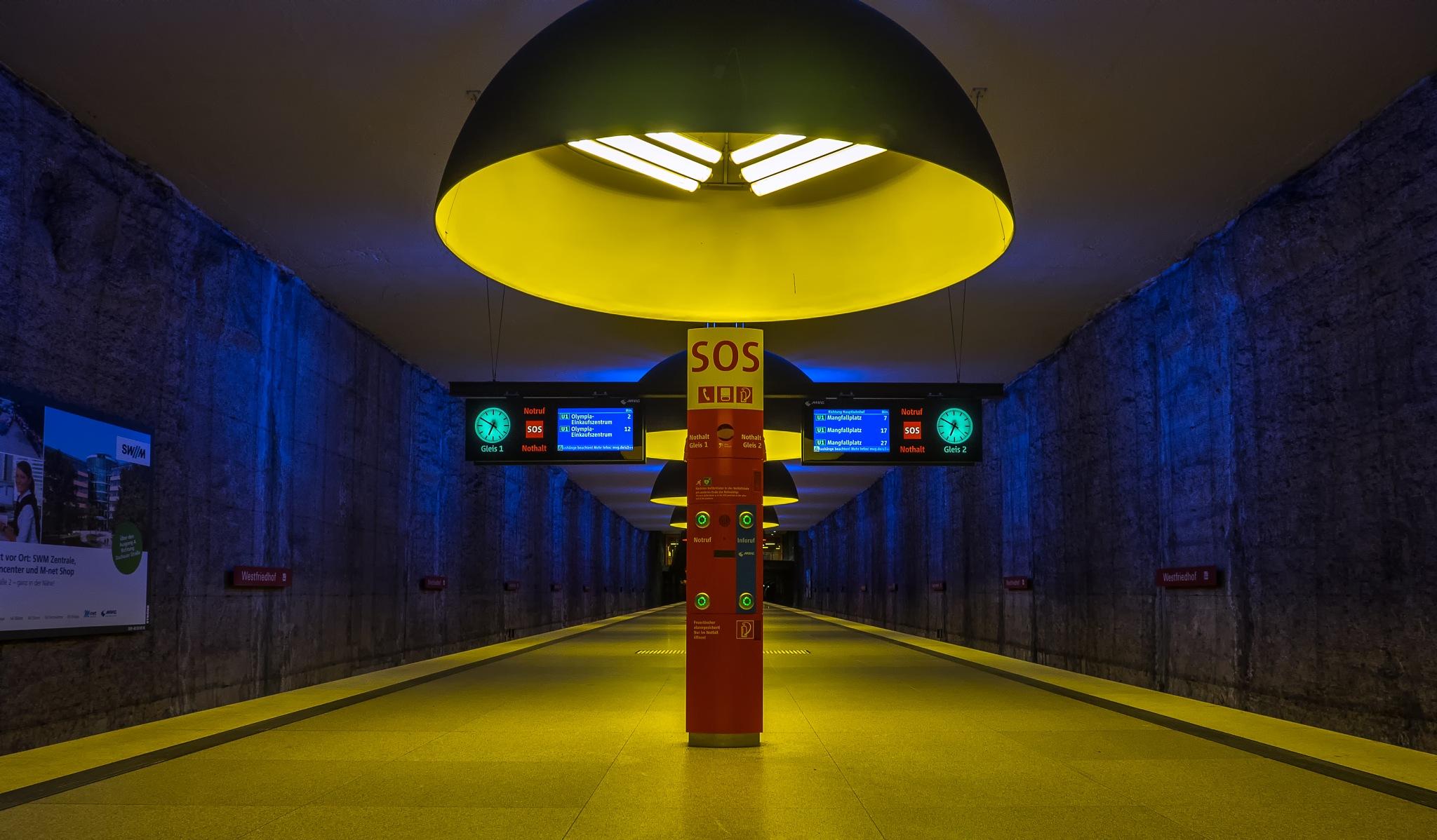 subway station by DieterEin
