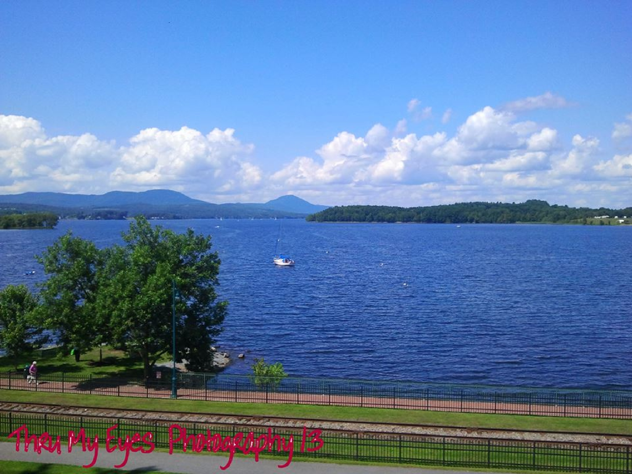 Lake Memphremagog by captain