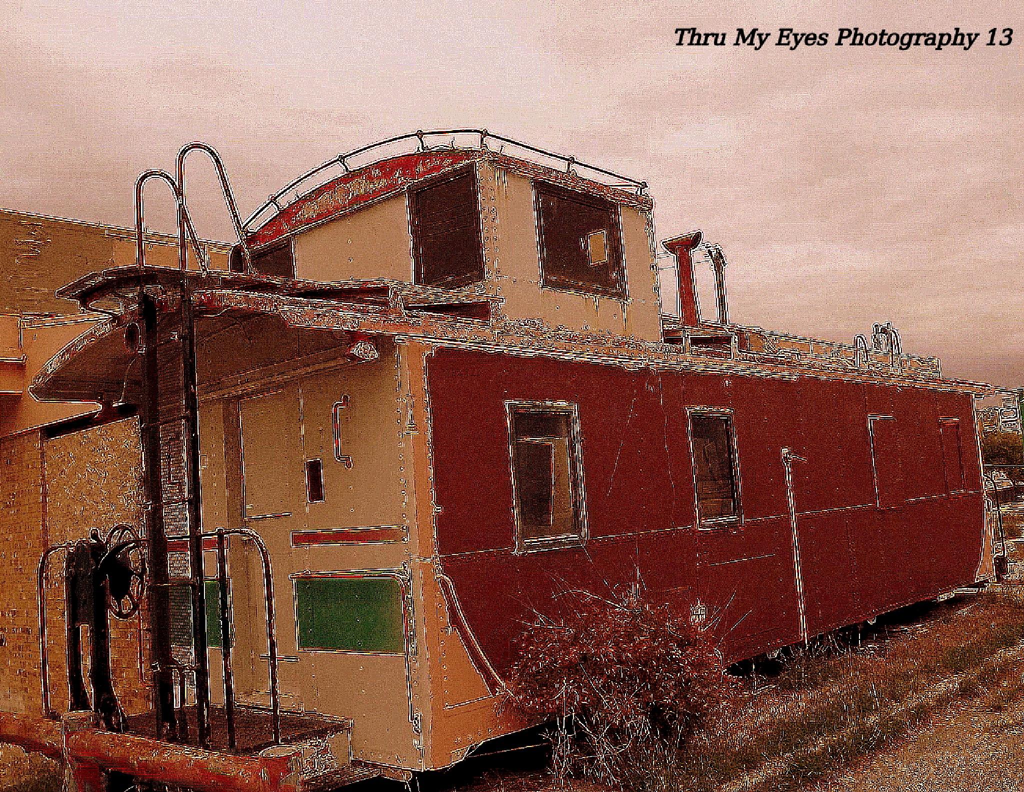 Old Rail Car by captain