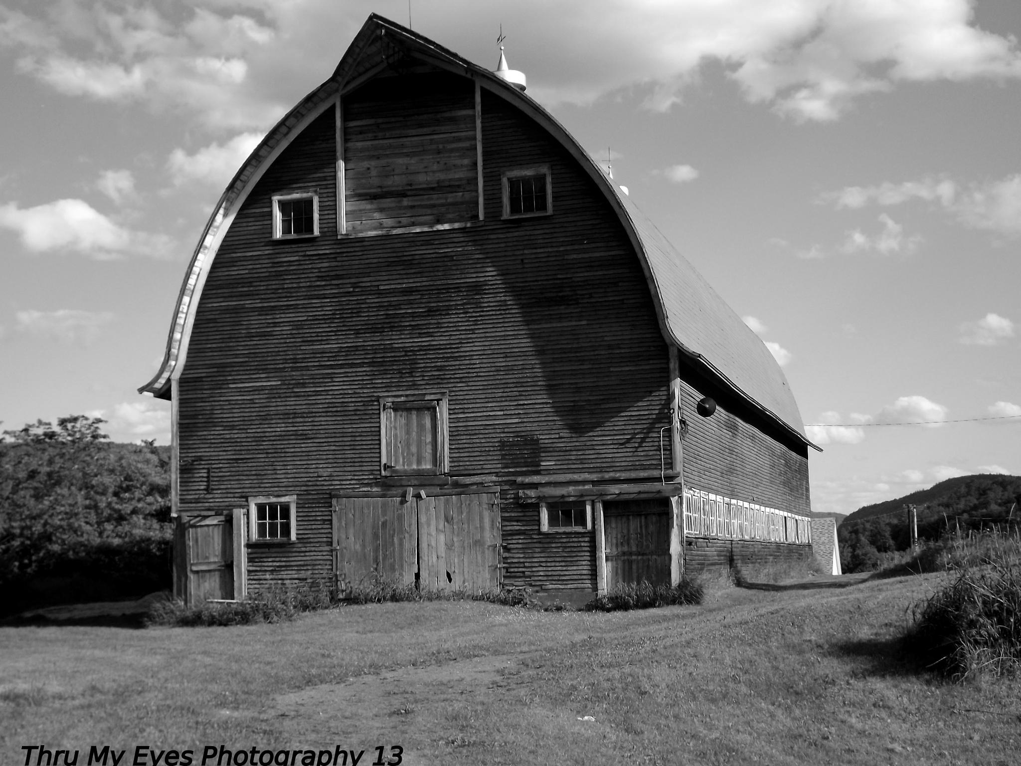 Passumpsic Vintage Barn #2 by captain