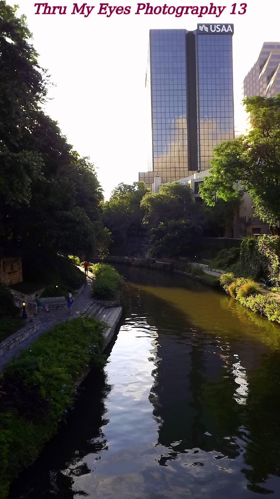 River Walk Cityscape by captain
