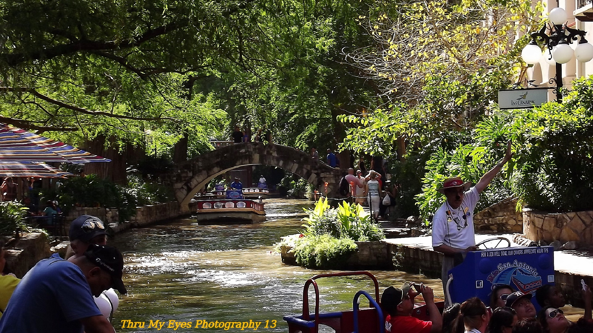 The Historic San Antonio River Walk by captain