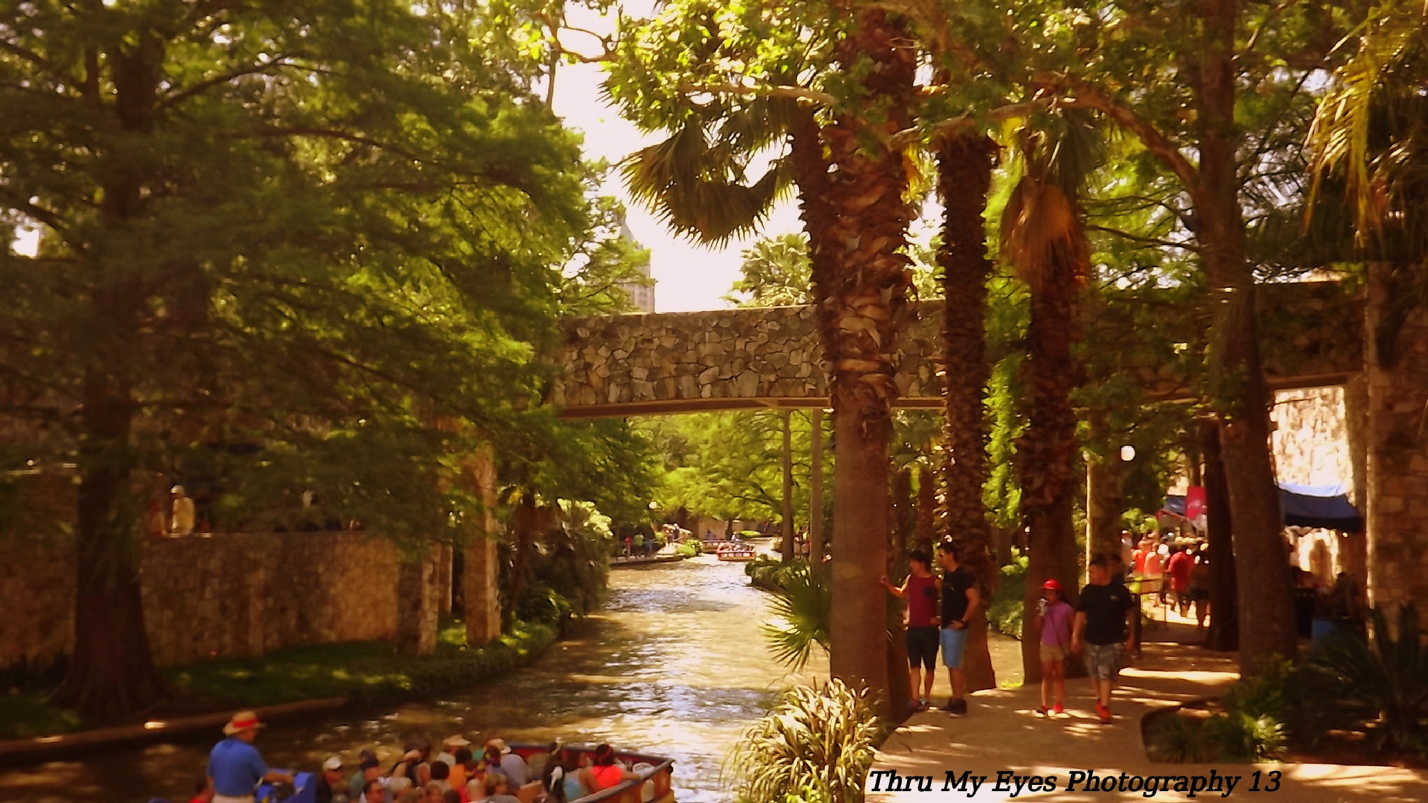 The Historic River Walk by captain