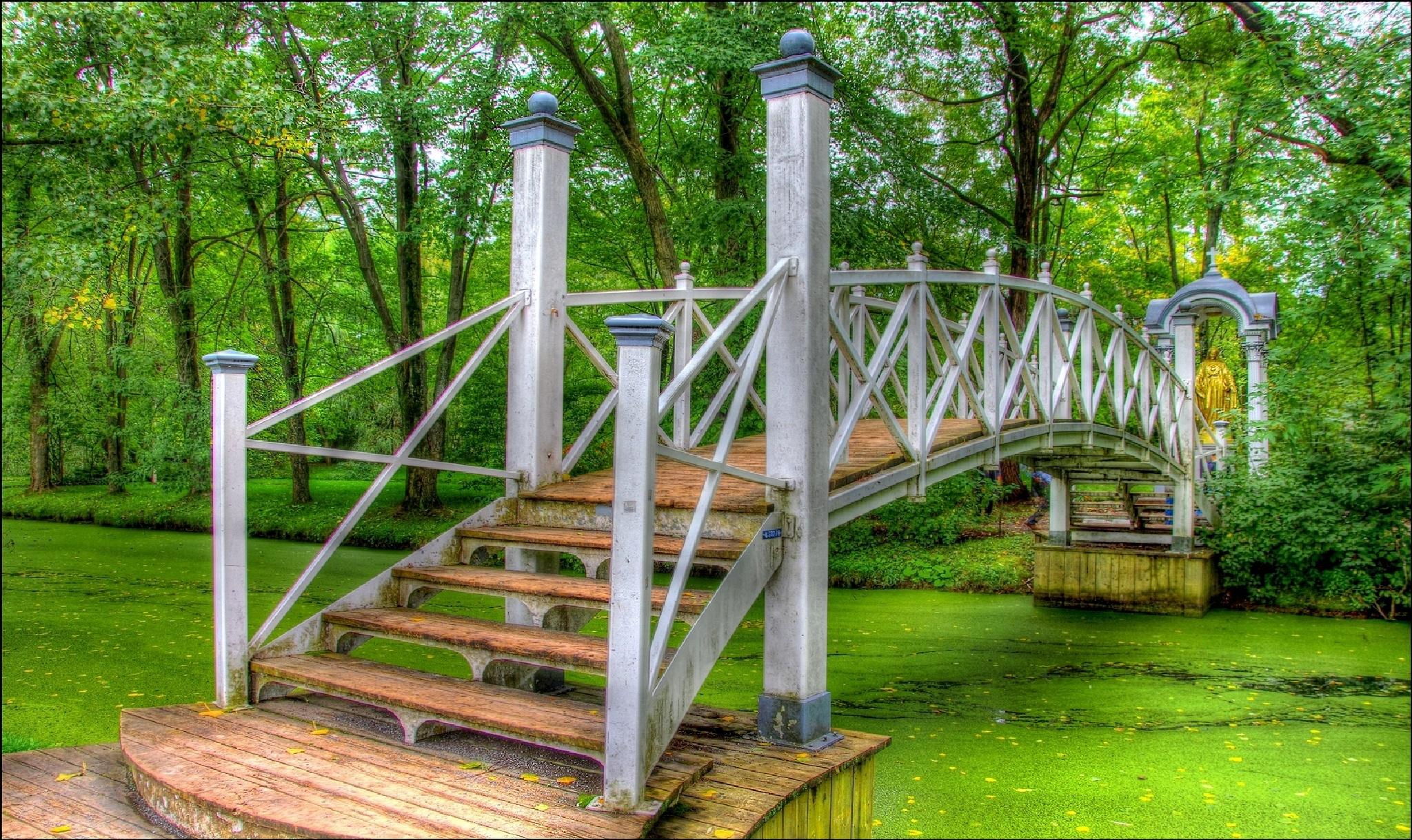 Le petit pont by Fernand Larochelle