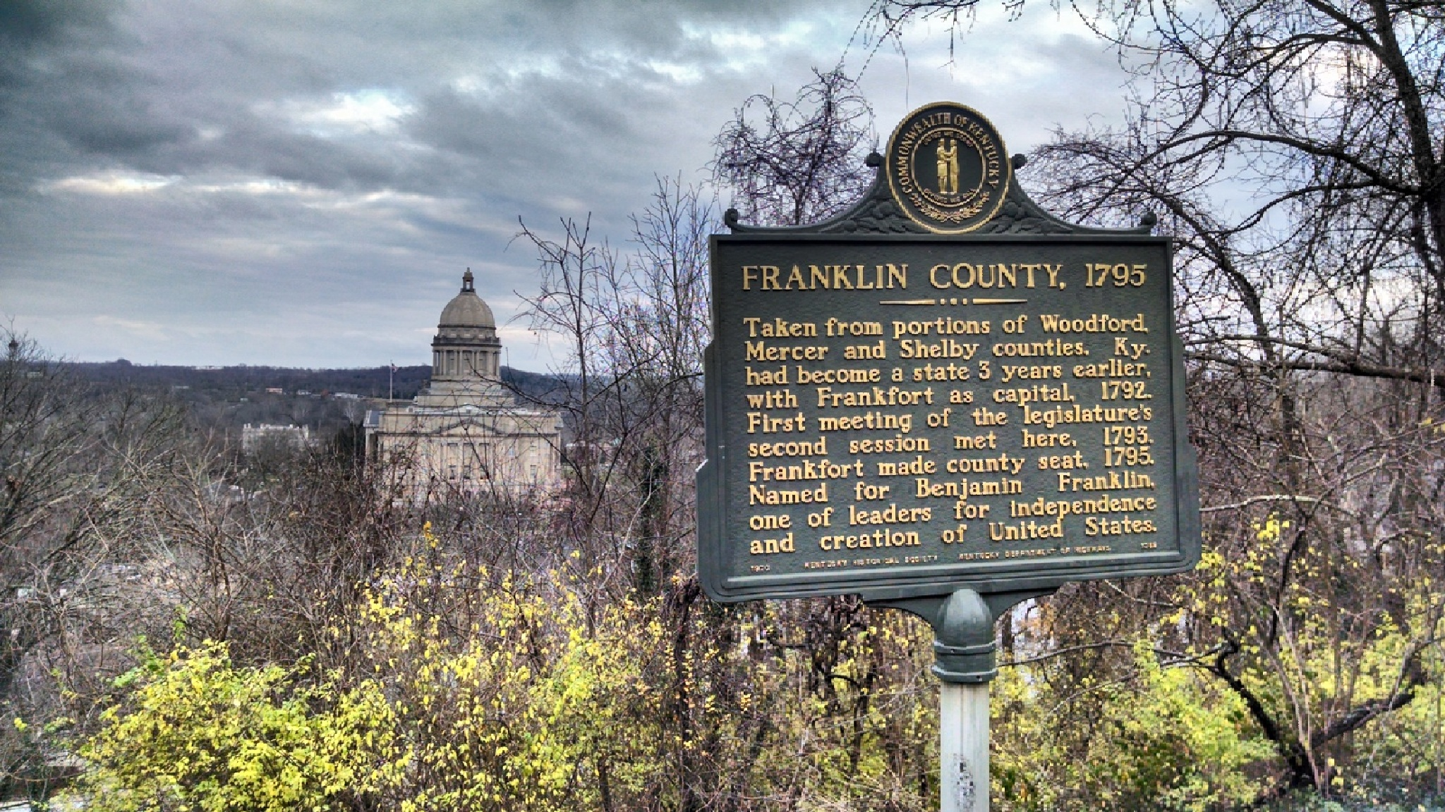 Historical Frankfort by Tina Hayes
