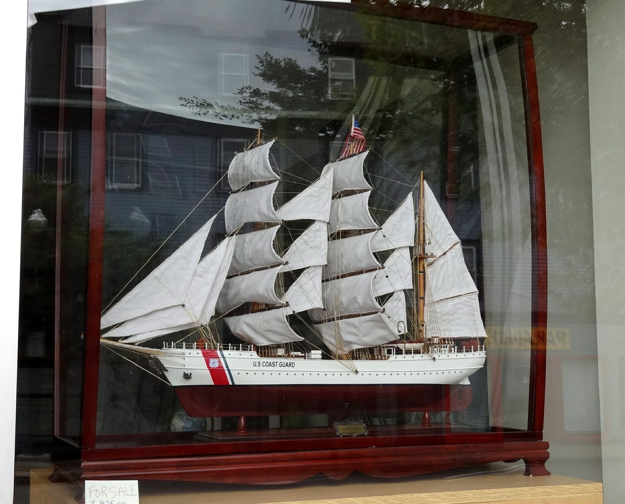 Window sailing by Jacques Trempe