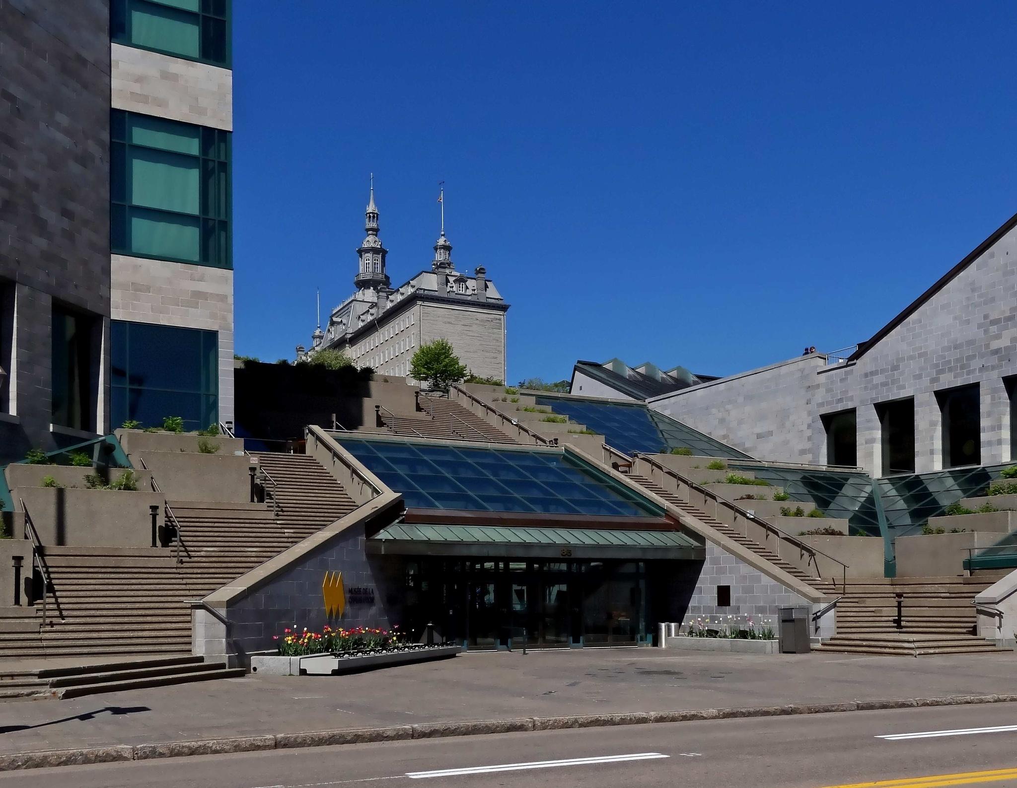 Photo in Architecture #quebec #canada #musee #museum #civilisation #dalhousie #architecture #building #batisse #immeuble